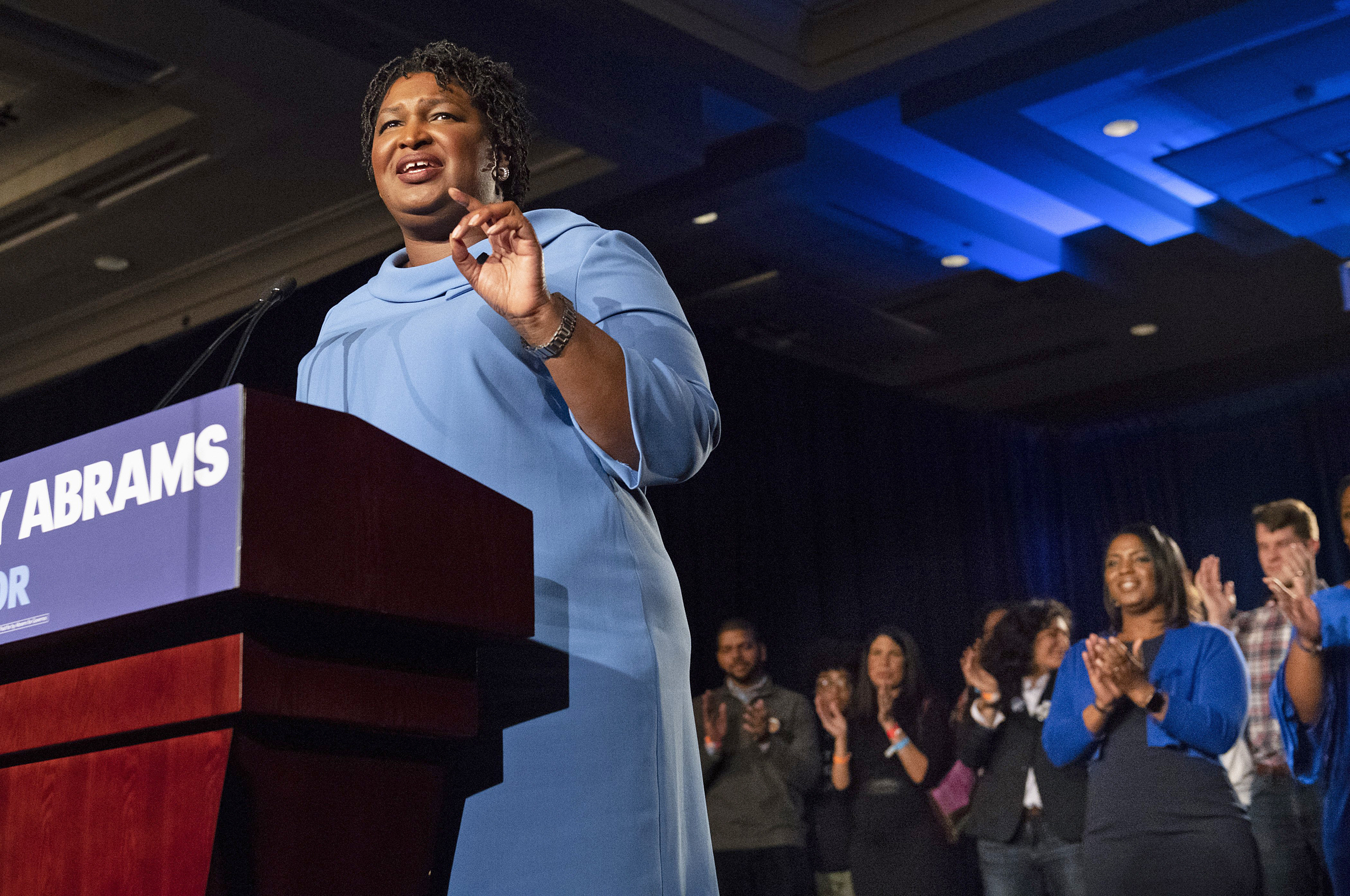 Abrams doesn't concede, predicts Georgia governor's race will go to runoff