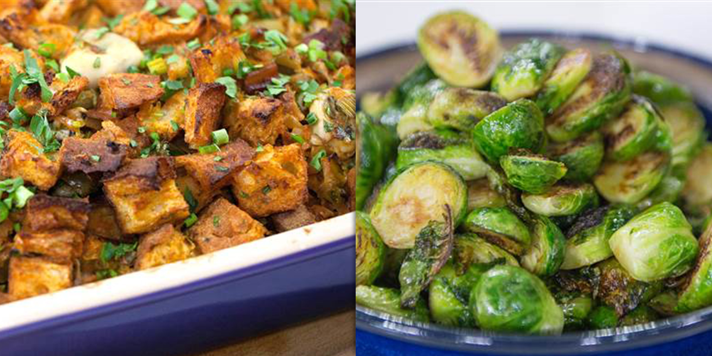 Best Thanksgiving Side Recipes For Stuffing Sweet Potatoes And More