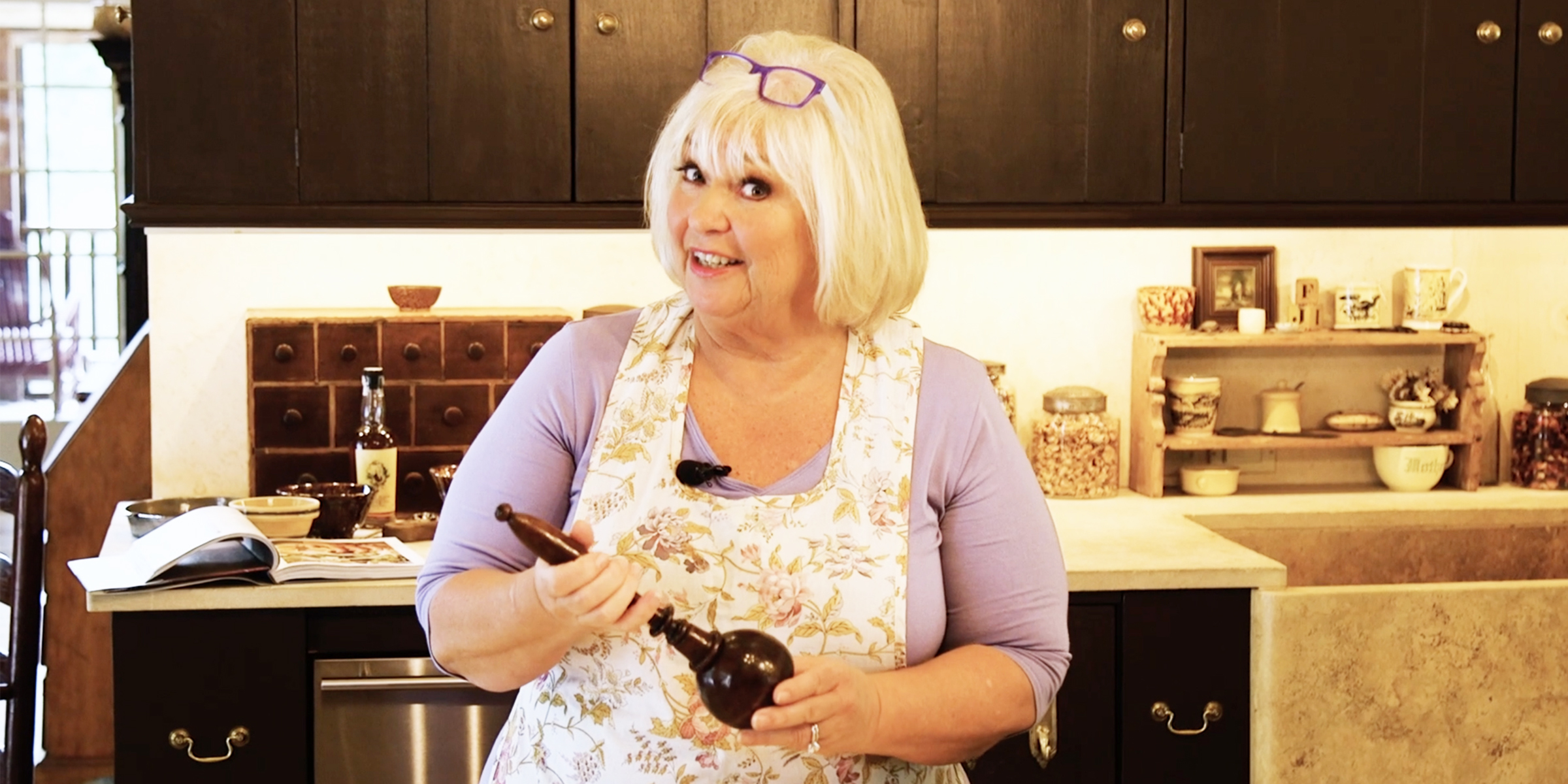 Food Network Star Nancy Fuller Farmhouse Rules Kitchen Tour