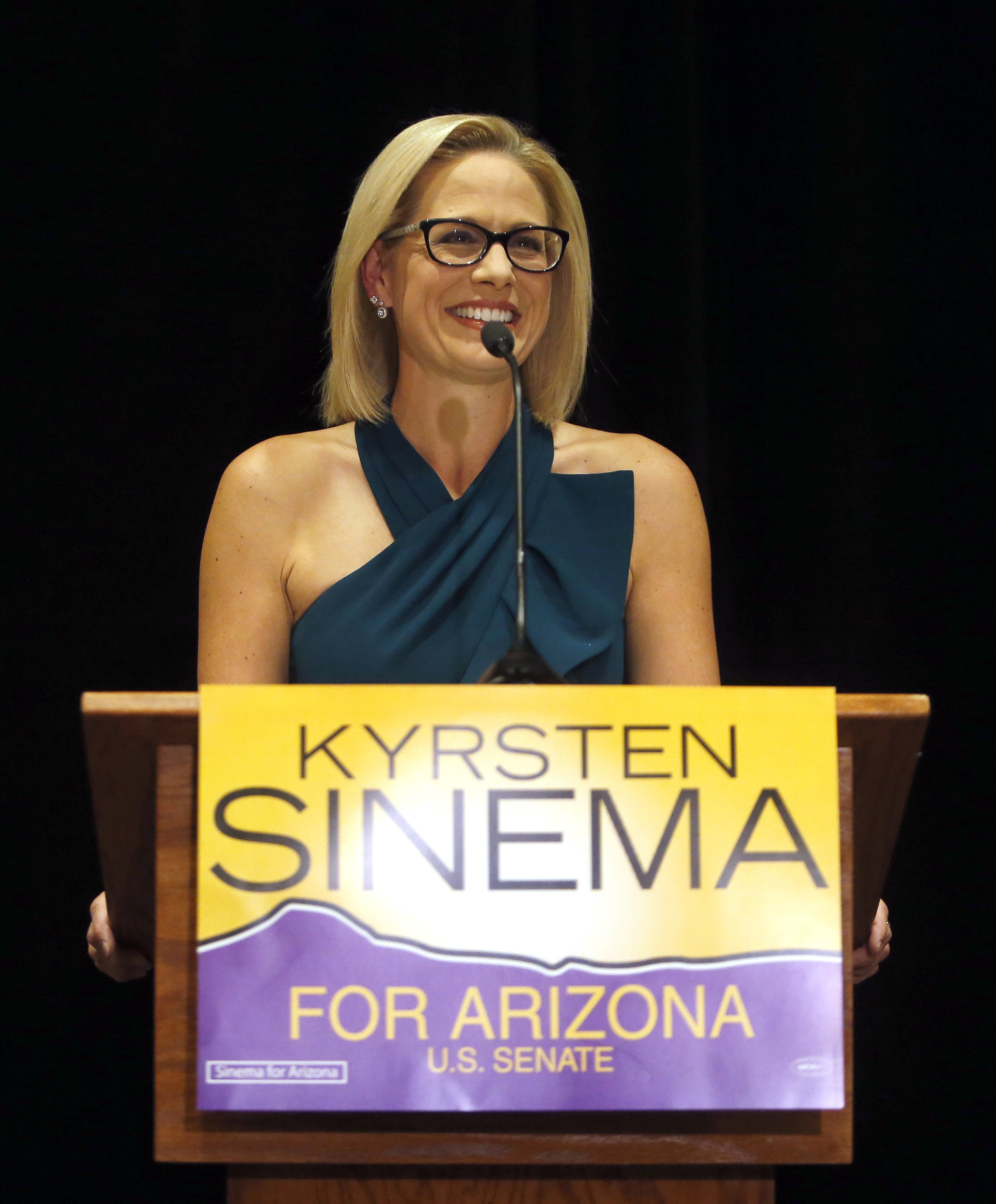 Democrat Kyrsten Sinema Wins Arizona Senate Race After Nail Biter Against Martha Mcsally