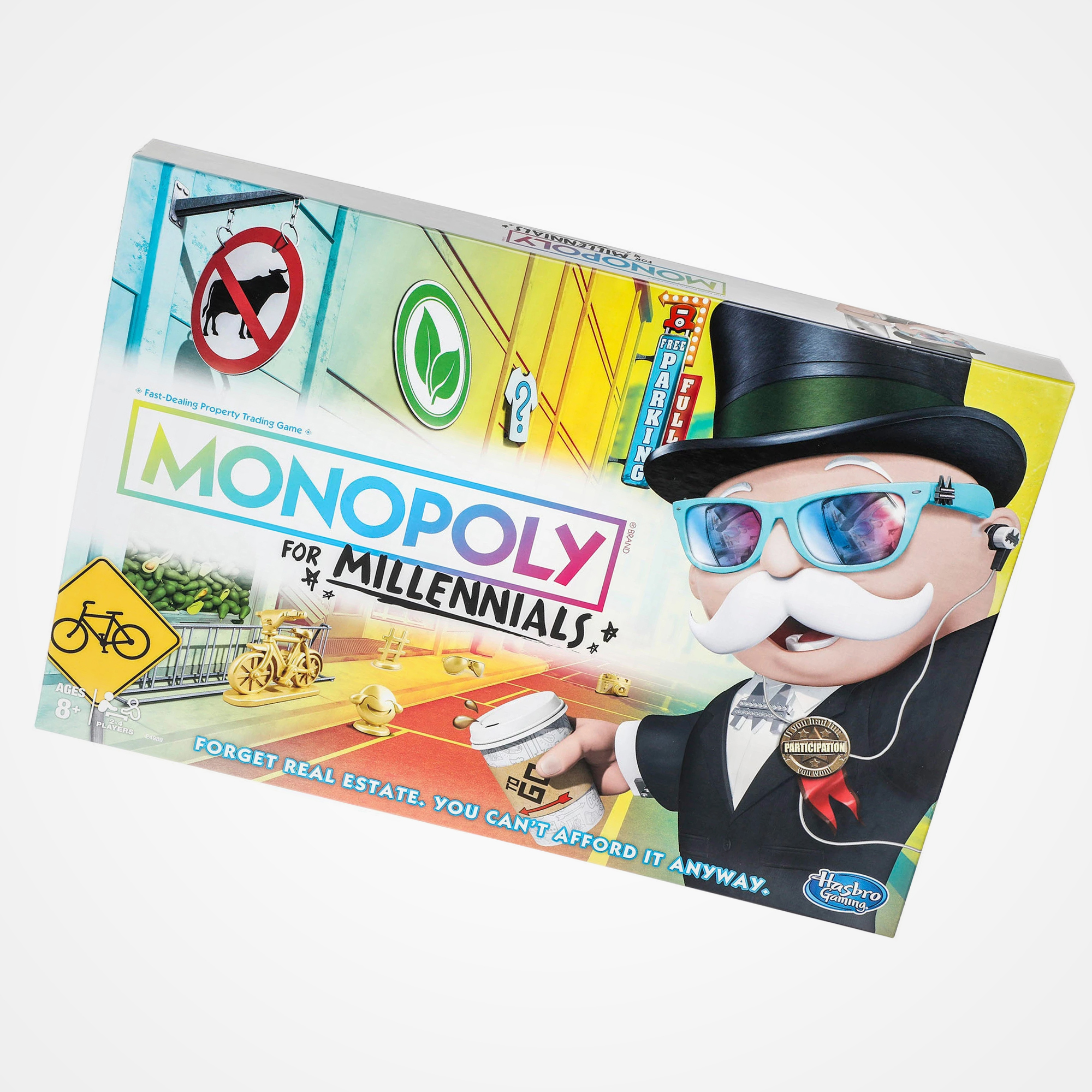 Millennials 'can't even' with the new Monopoly, where