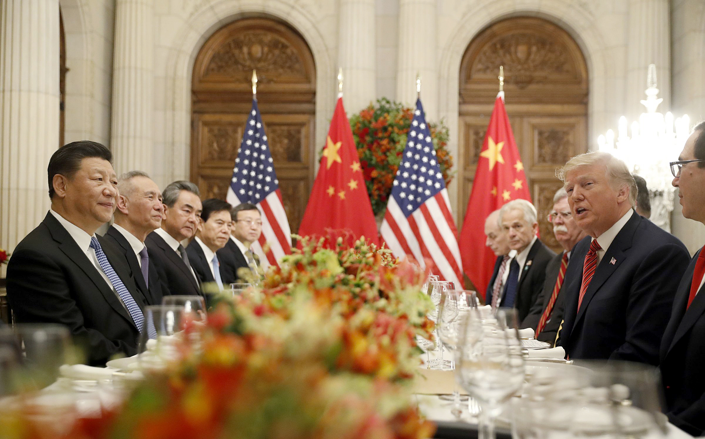 'Unlimited possibilities': Trump agrees to pause U.S. trade war with China