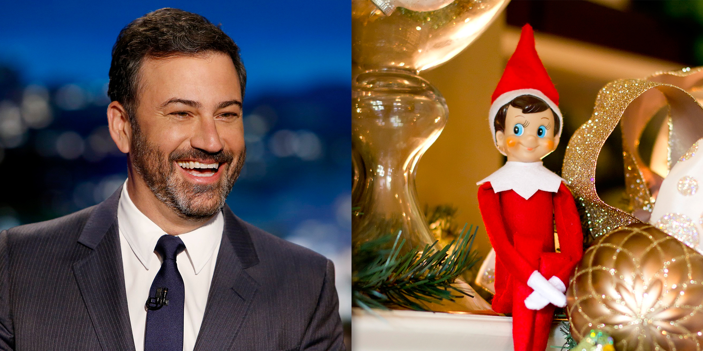Jimmy Kimmel has a brilliant idea for Elf on the Shelf