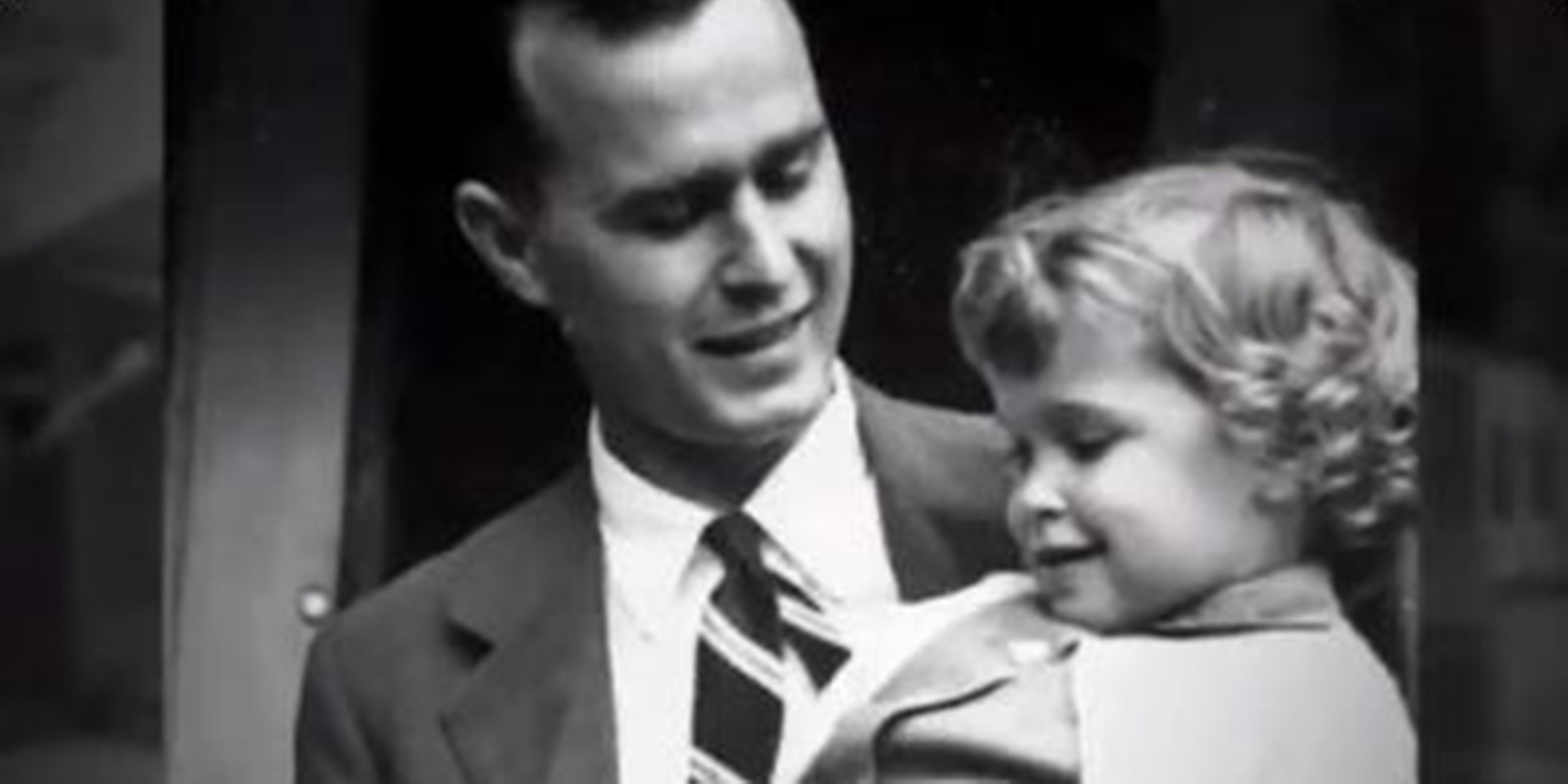George H W Bush Wrote A Touching Letter About Daughter Robin Who