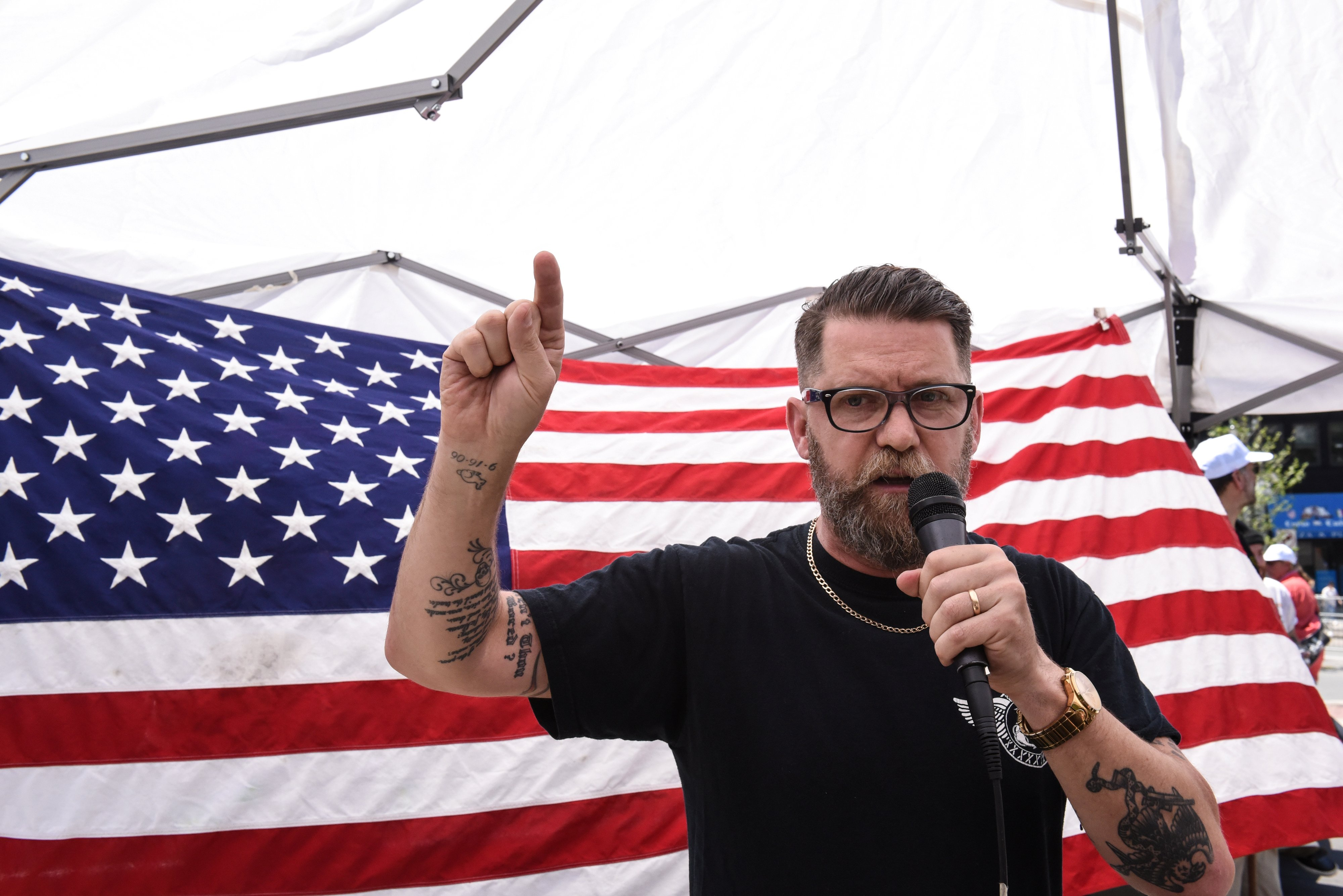 proud boys founder distancing himself from extremist organization