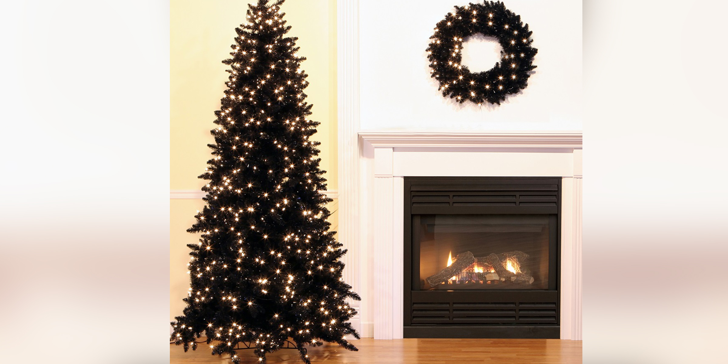 Black Christmas Trees Are The Biggest Trend In Holiday Decorations