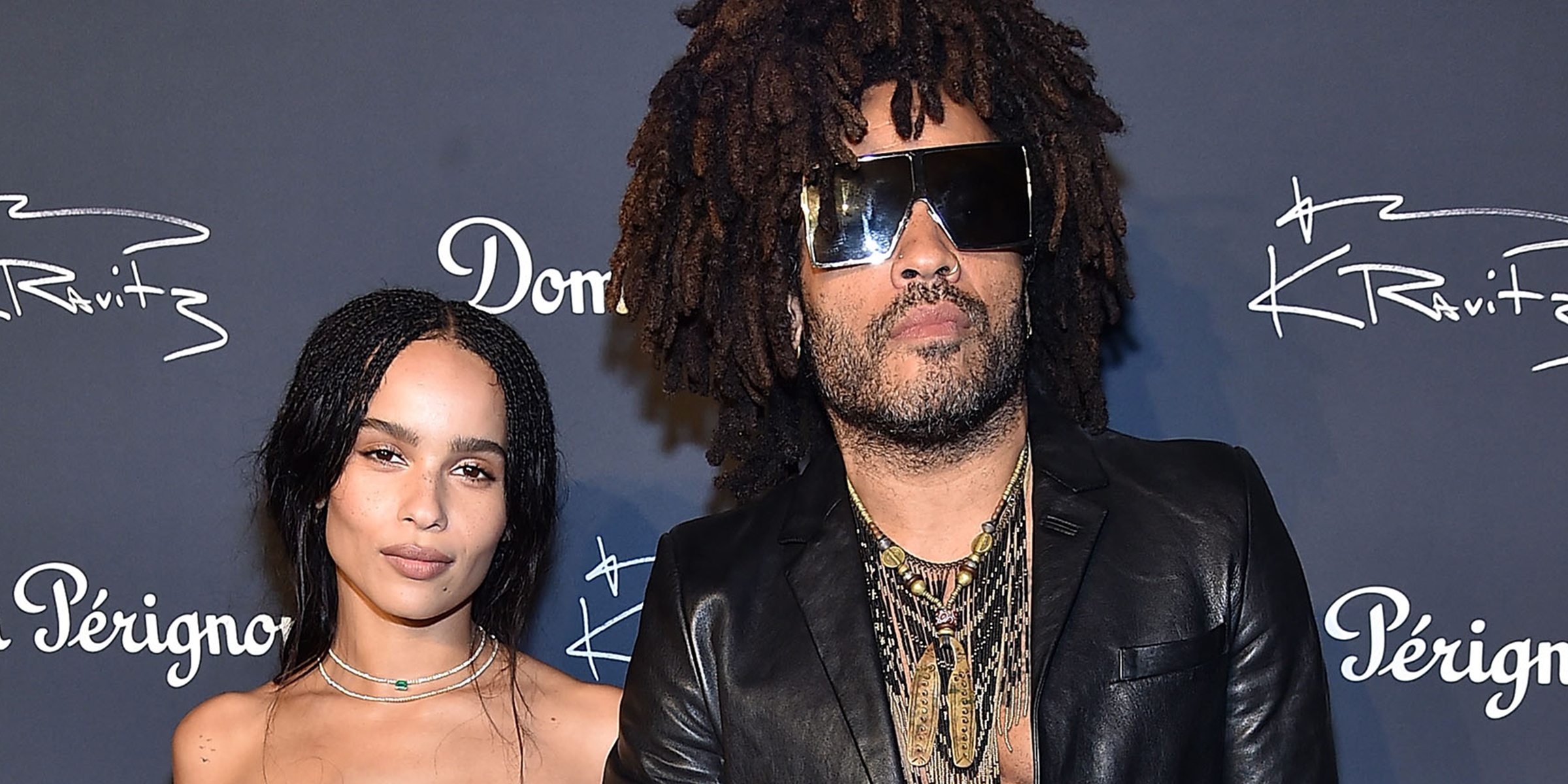 Lenny Kravitz Weighs In On Daughter Zoe Working With His Ex
