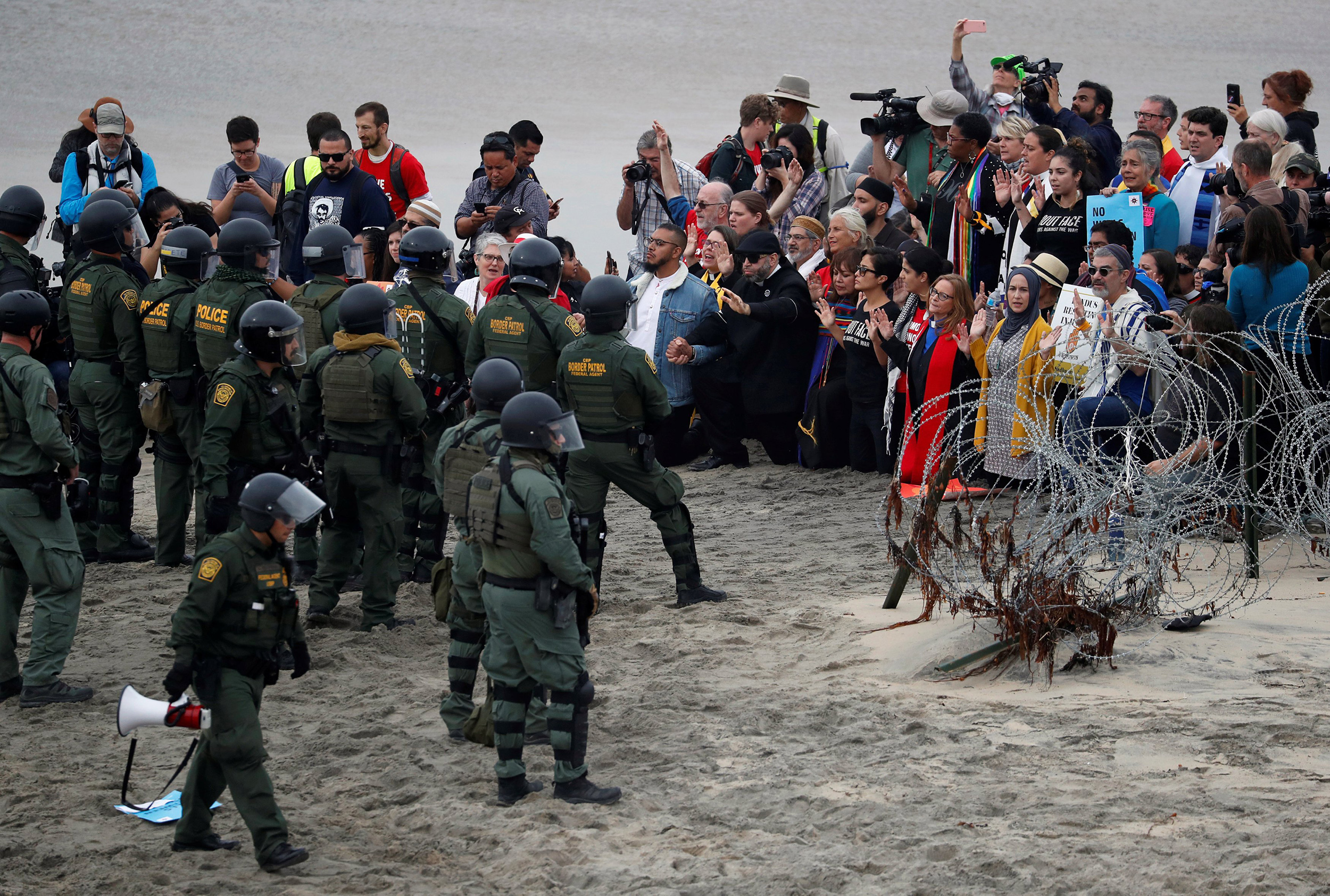 Faith leaders: Migrants have international right to U.S. asylum