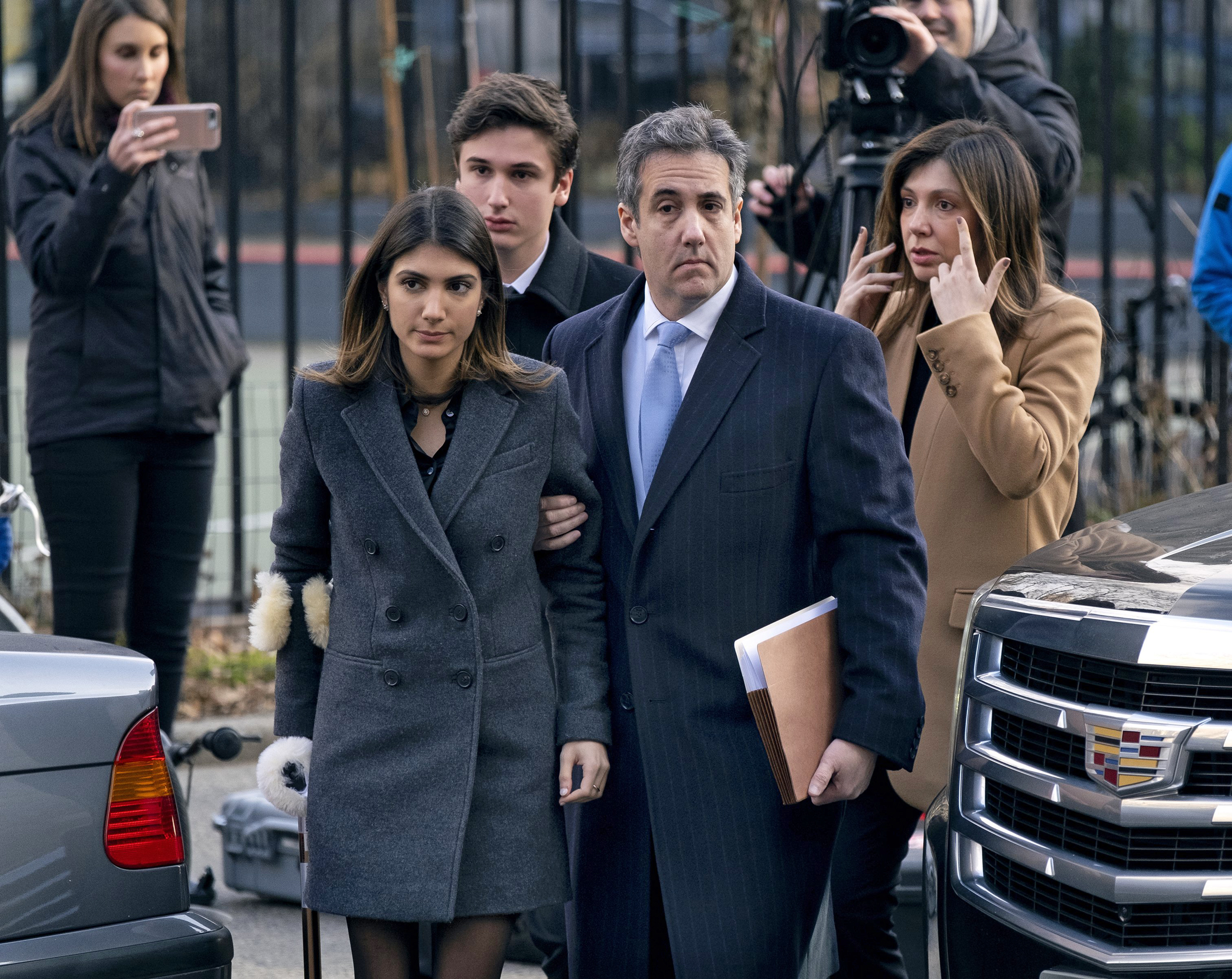 Michael Cohen gets 3 years, says Trump's 'dirty deeds' led