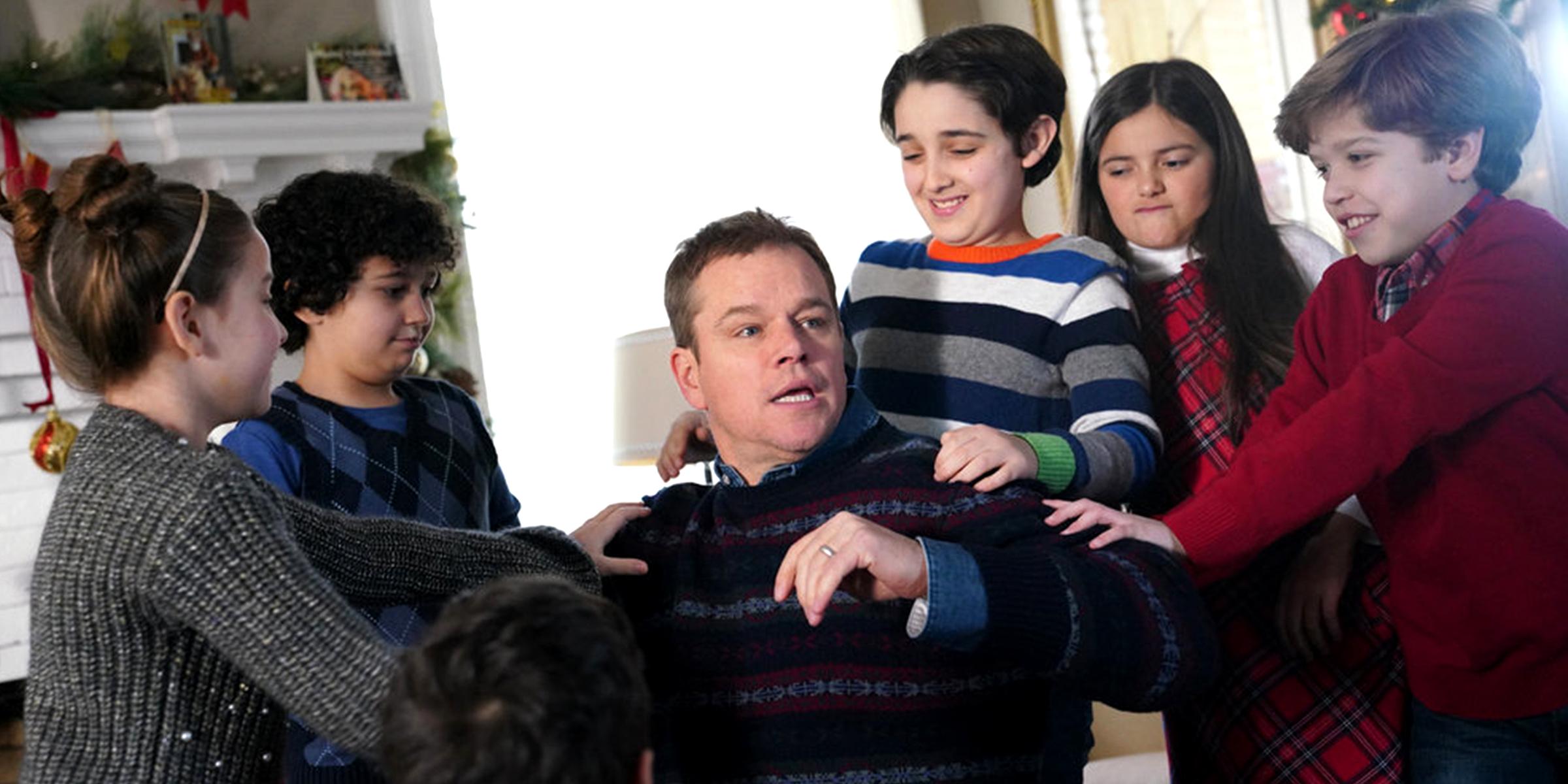 Best Christmas Ever Snl.Matt Damon S Snl Skit About Parenting Stress During The