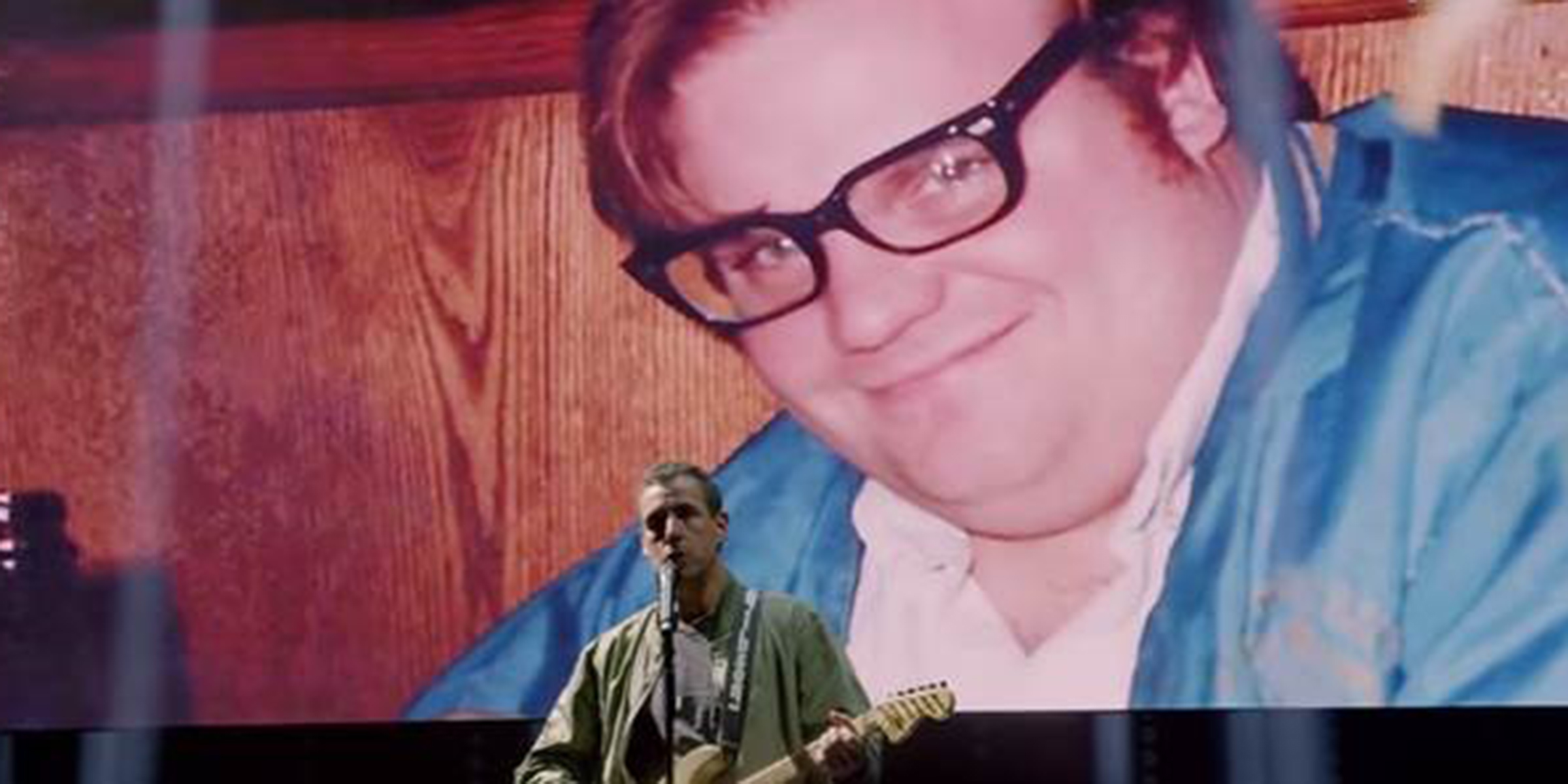 Adam Sandler shares song remembering Chris Farley