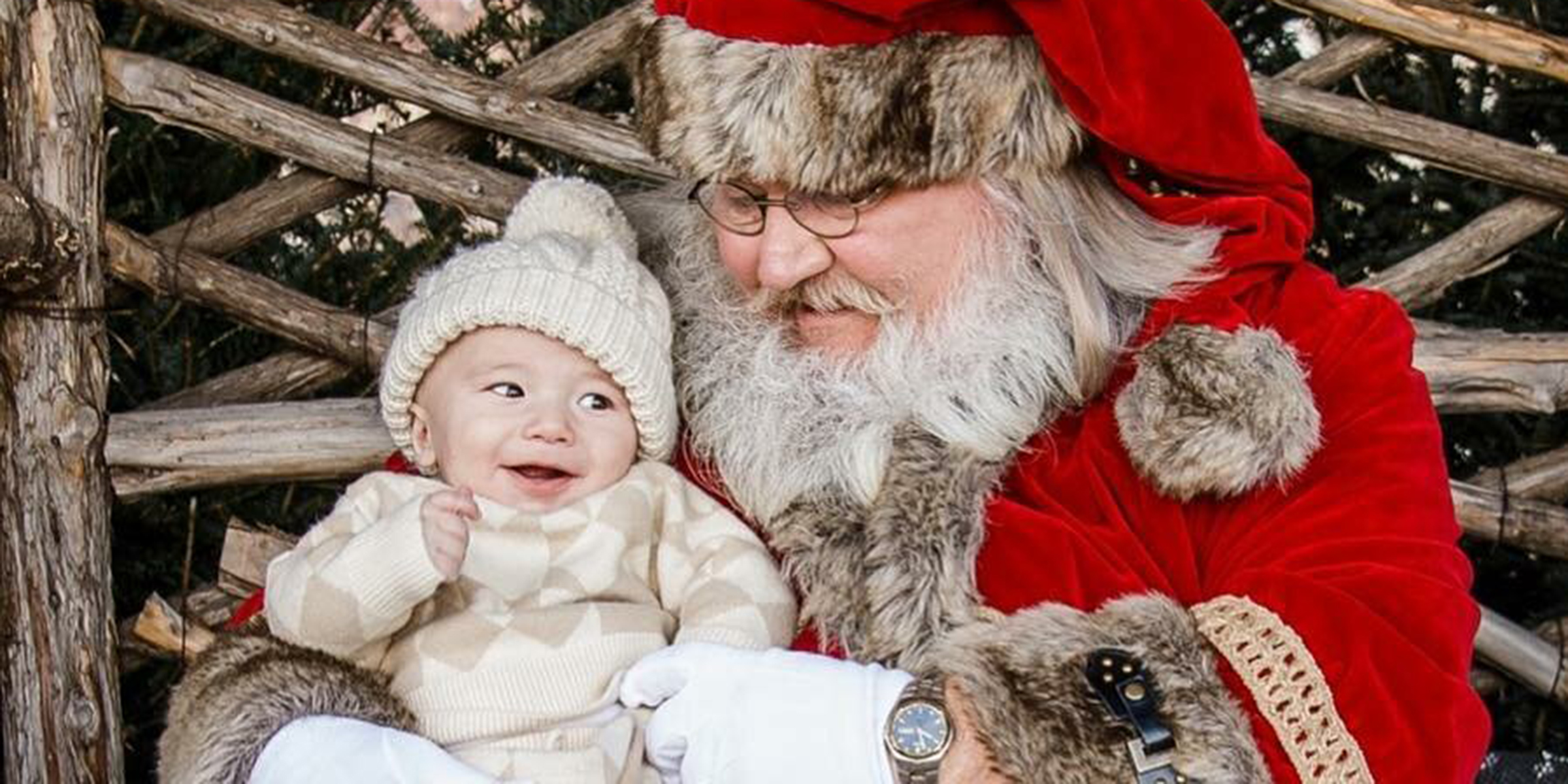Joanna Gaines shares photos of baby Crew meeting Santa for 1st Christmas cca84e47bf2a