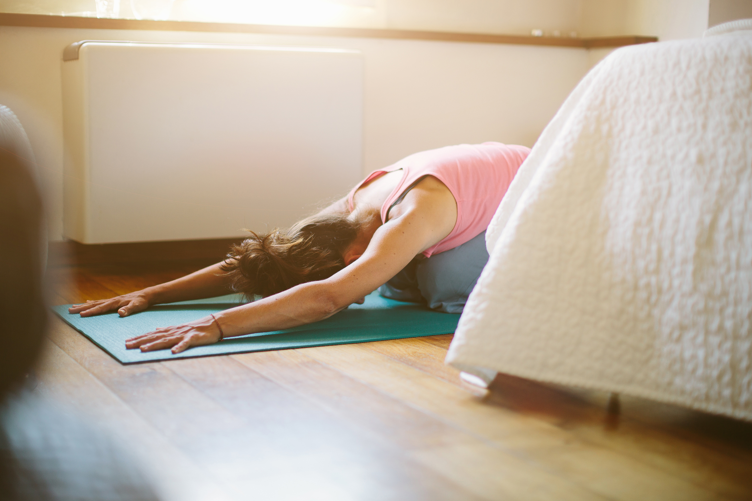 50 yoga poses that will help you fall sleep faster