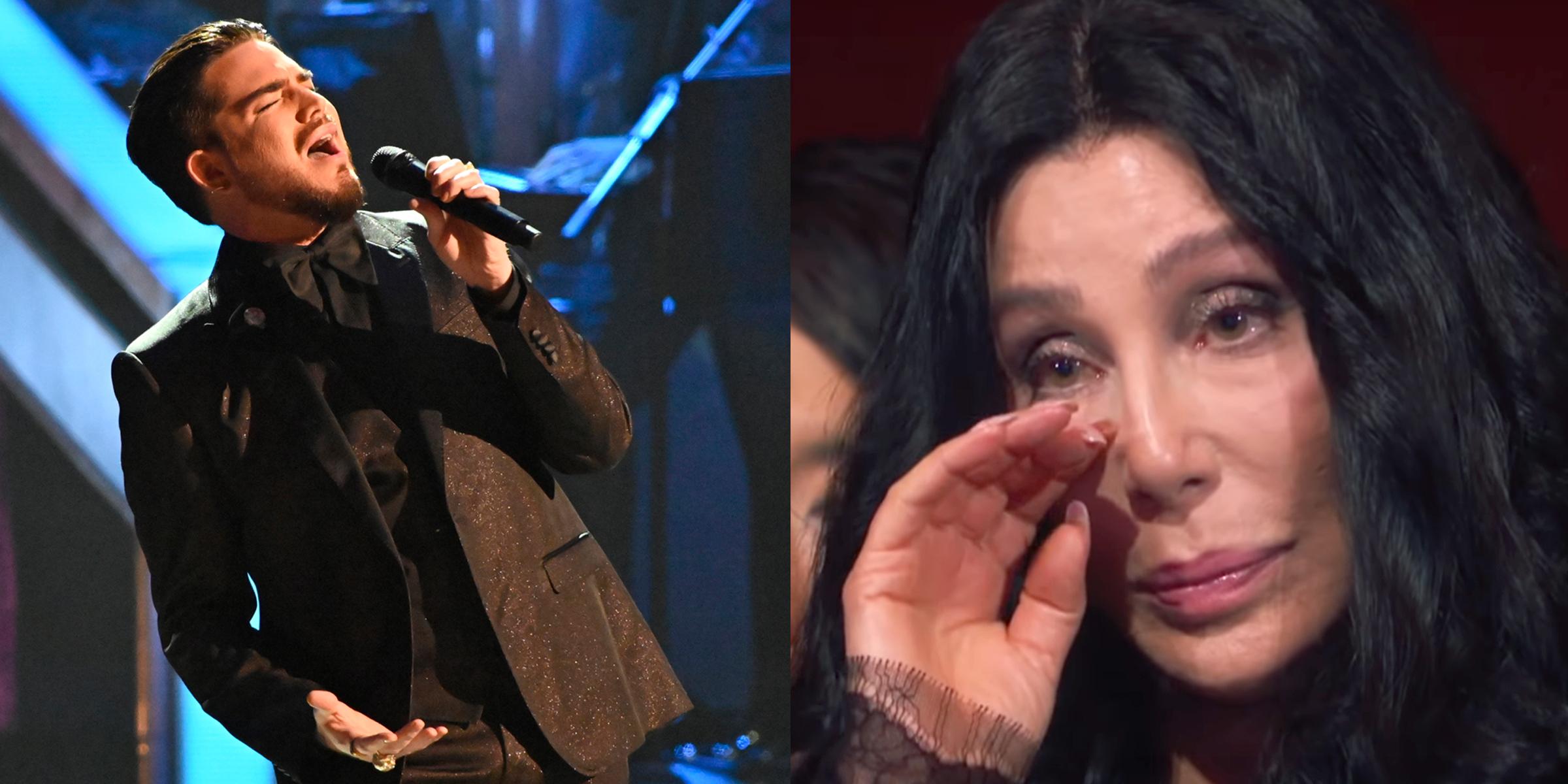 Adam Lambert's stunning rendition of 'Believe' brought Cher to tears