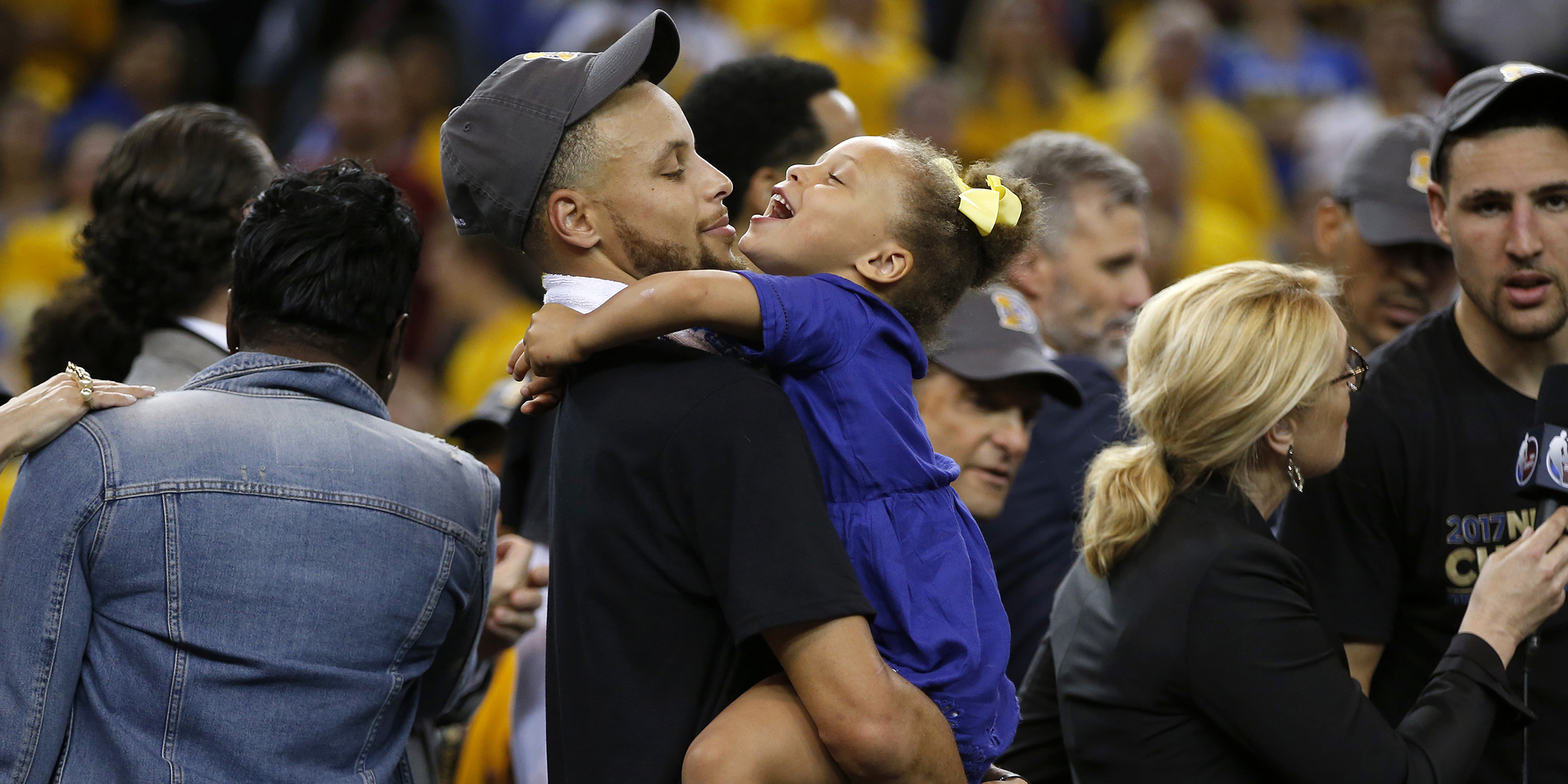 Stephen Curry and Riley's secret