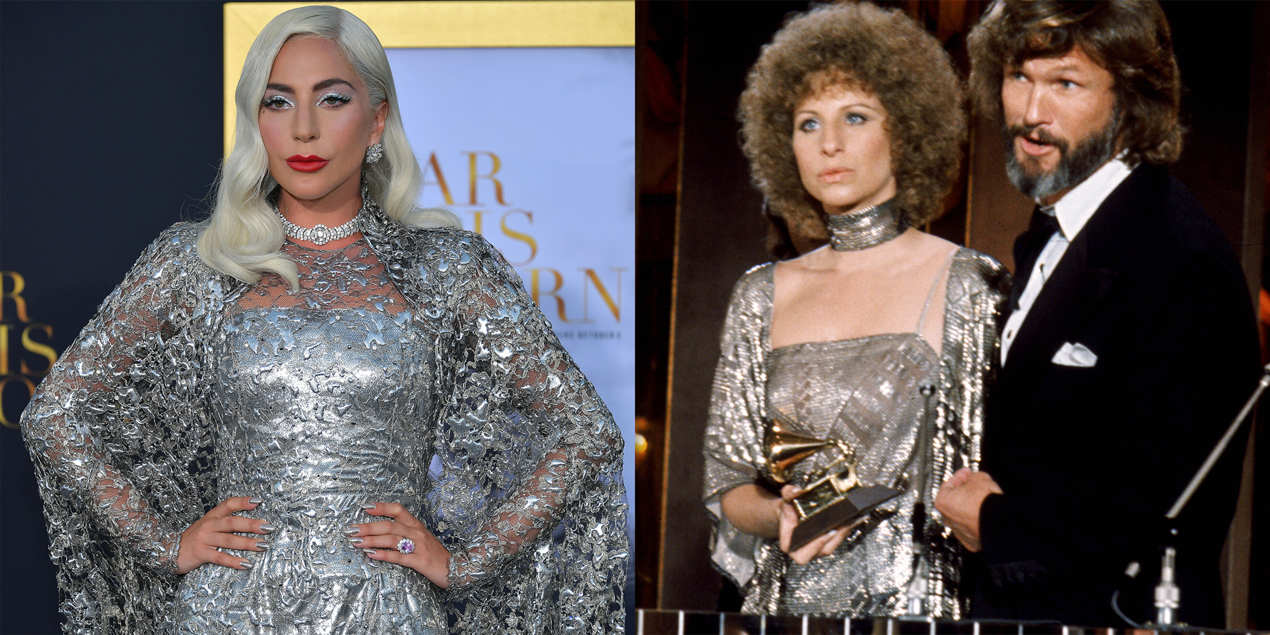 Lady Gaga Channels Judy Garland S A Star Is Born Look For The Golden Globes