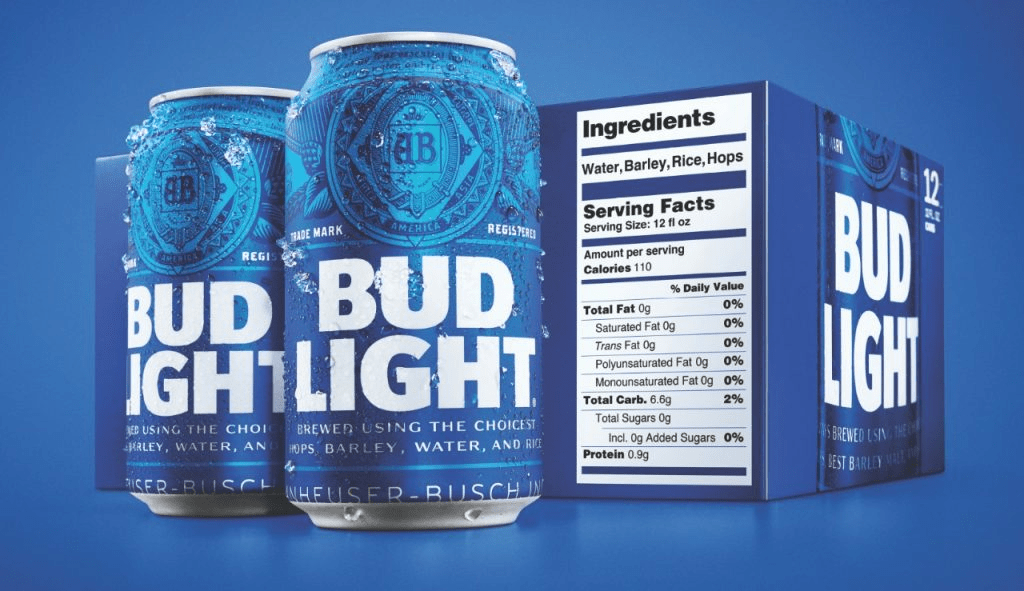 Bud-Light-debuts-expanded-nutrition-labels