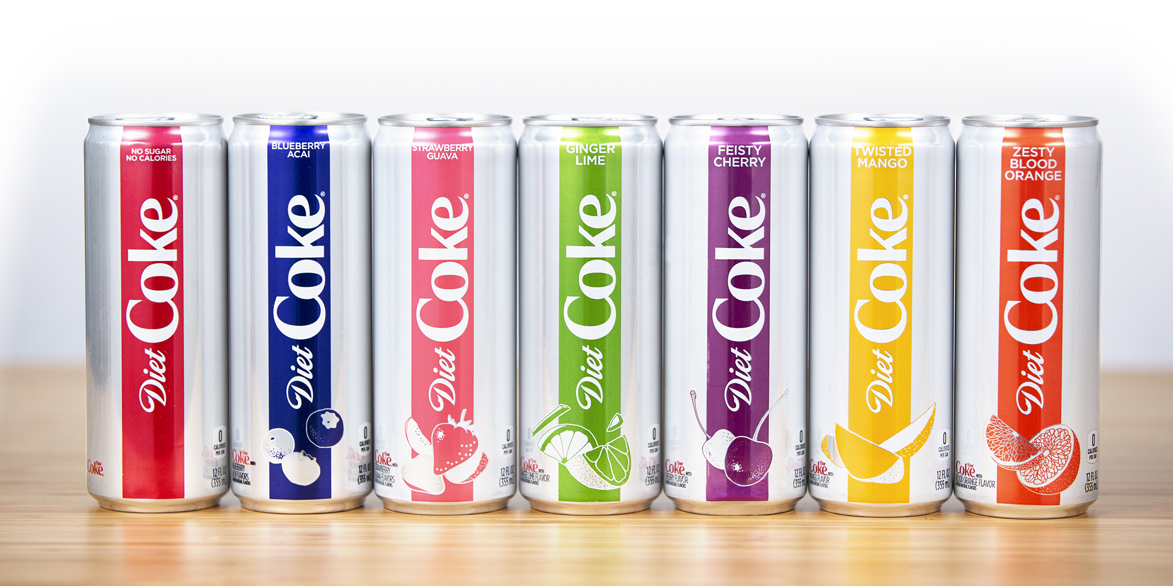 are new diet coke cans a different recipe