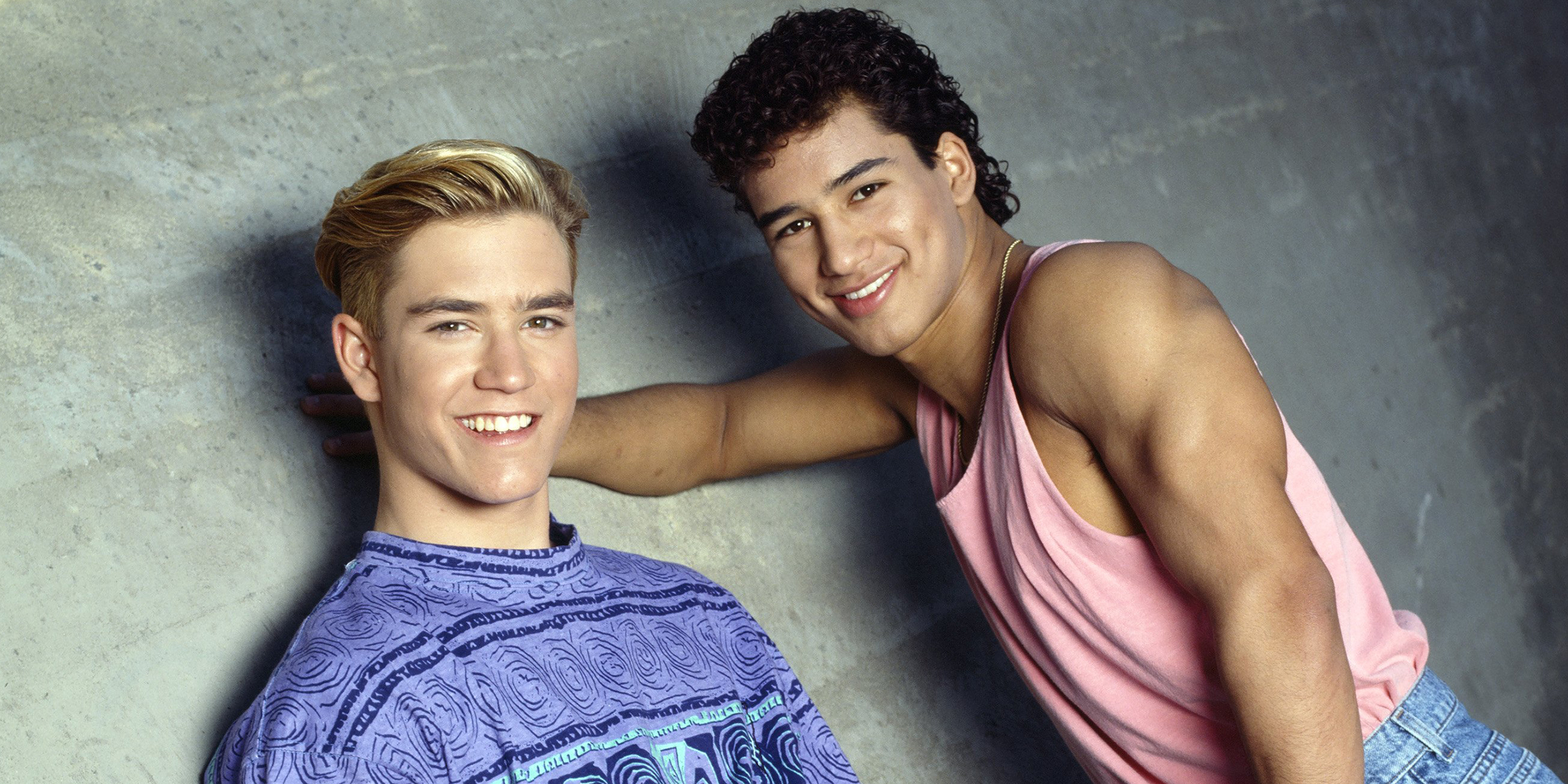Saved By The Bell Stars Mario Lopez And Mark Paul Gosselaar