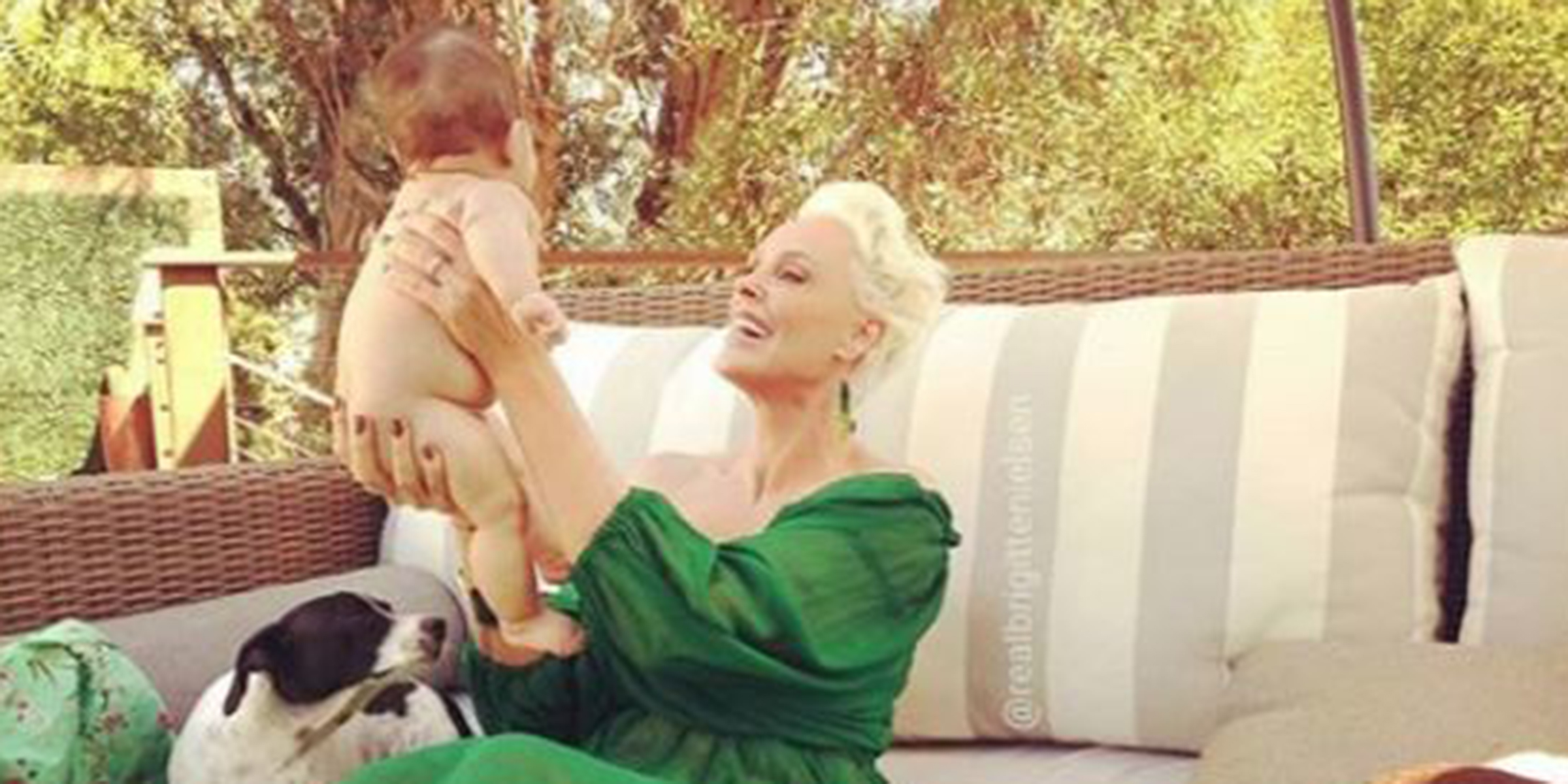 Brigitte Nielsen On Why It S Better To Be A New Mom At 55