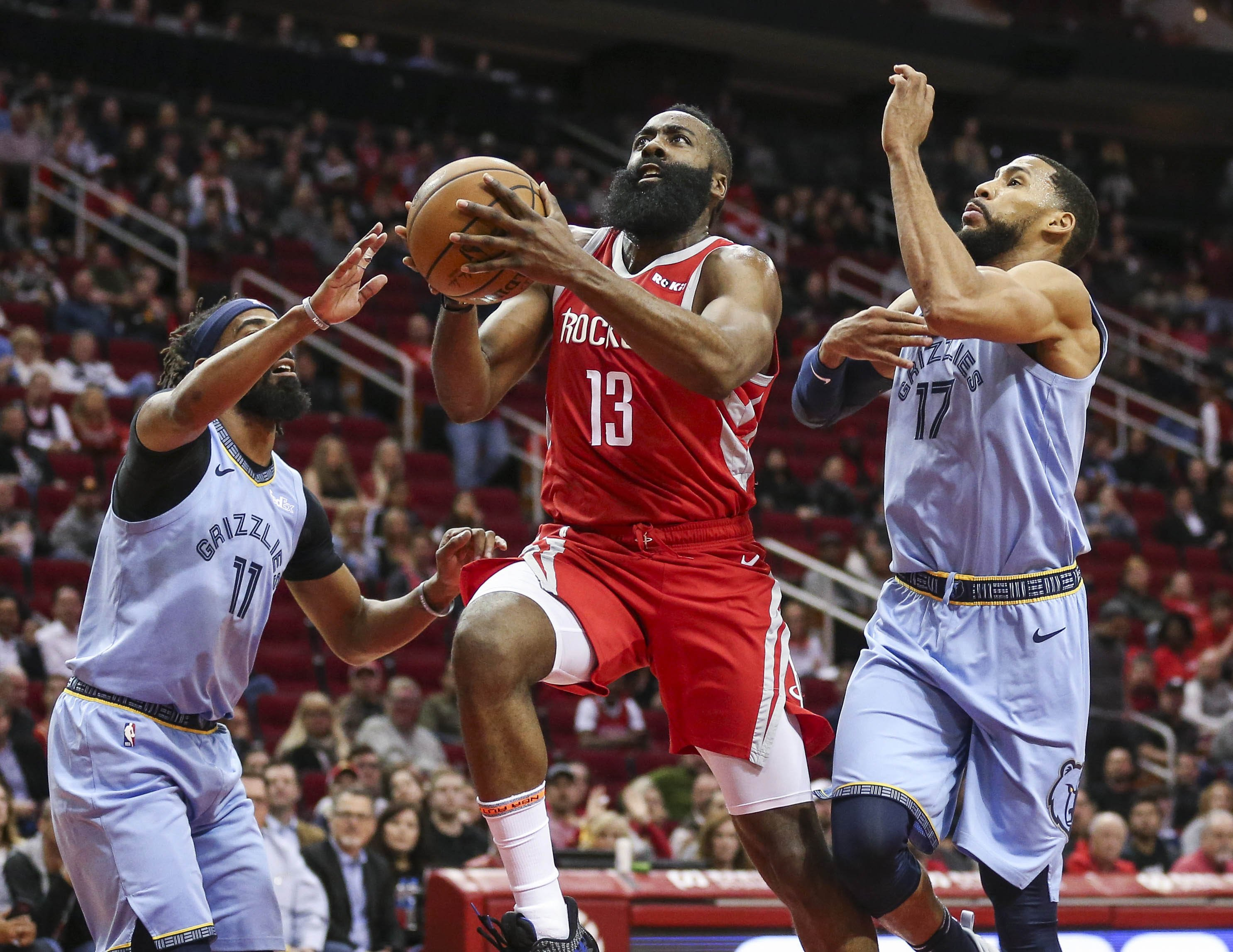 NBA 2K19' Player Ratings Update: James Harden Passes Kevin Durant