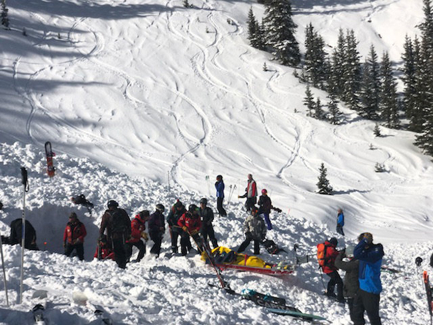 two deaths confirmed in separate avalanches in colorado and new mexico