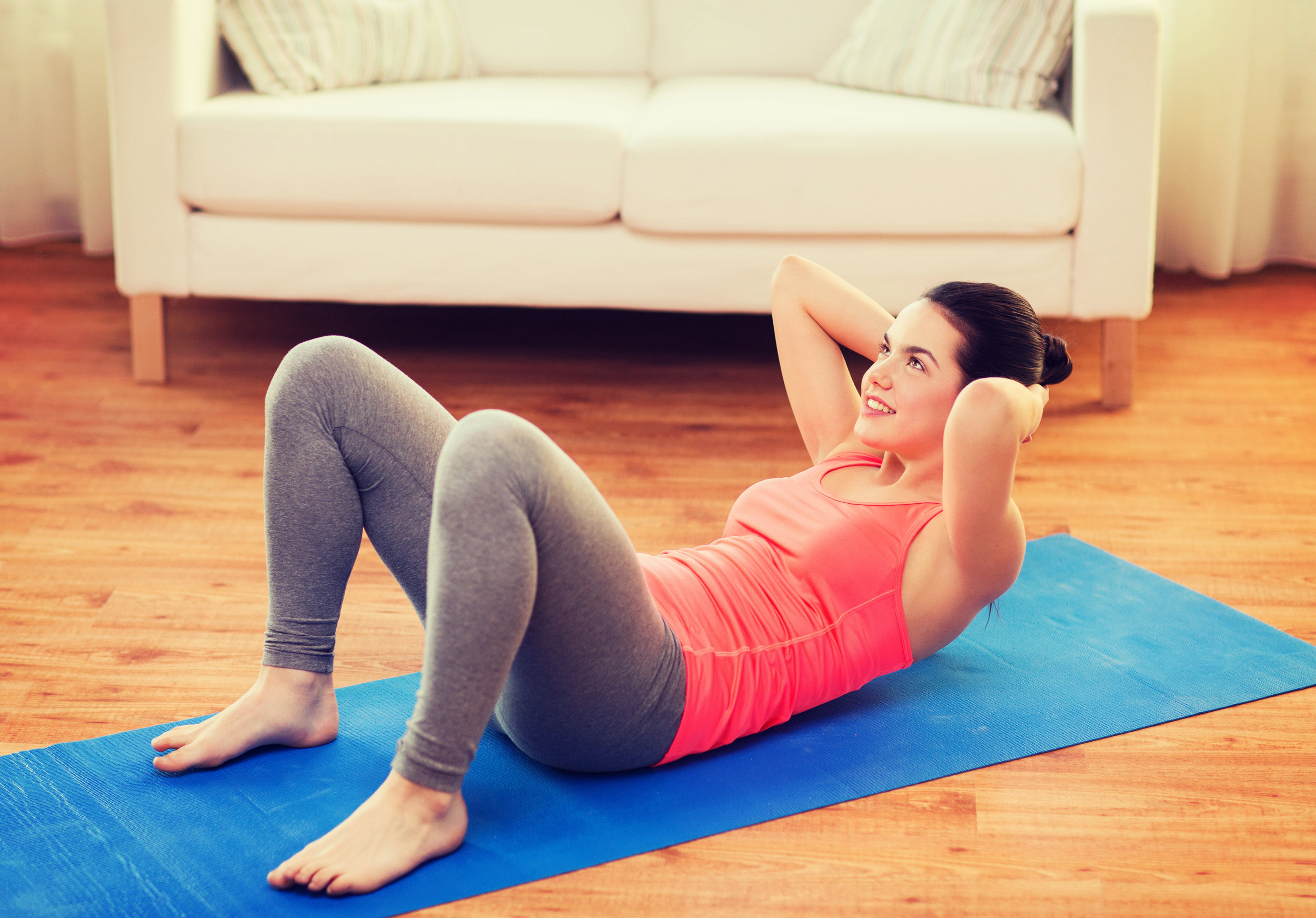 How To Work Your Abs Without Neck Or Back Pain