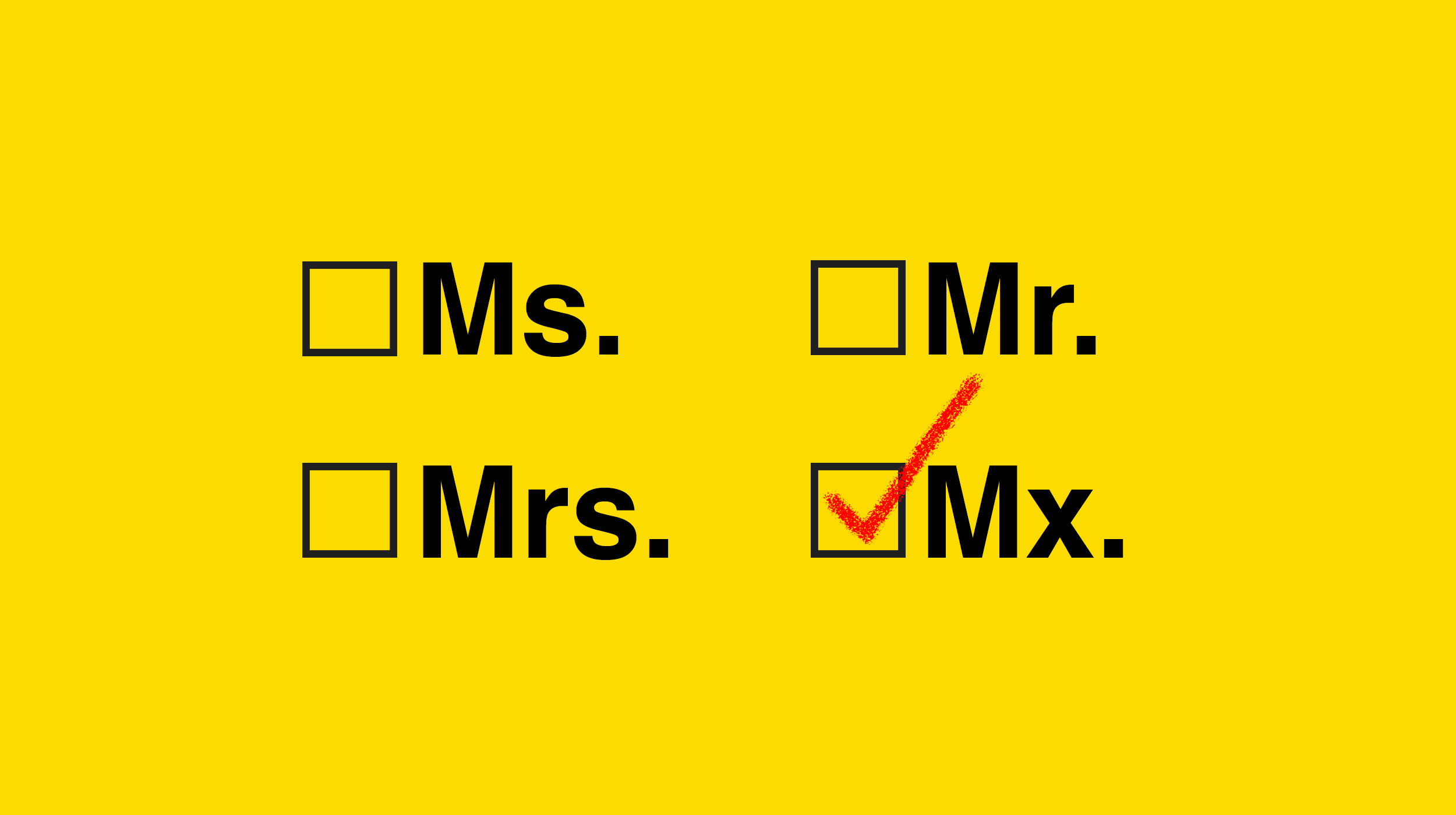 Ms., Mr., or Mx.? Nonbinary teachers embrace gender-neutral honorific