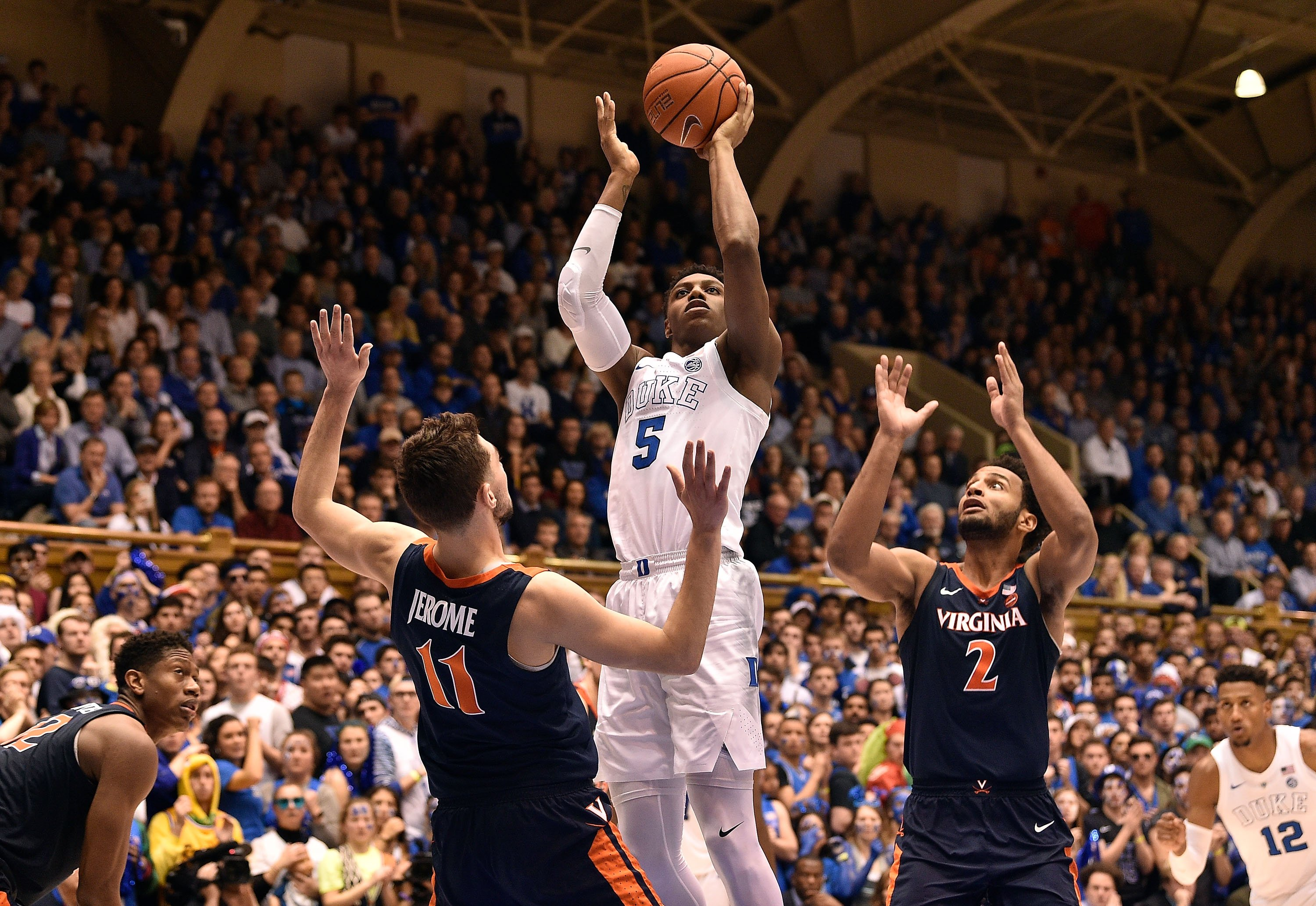 No. 1 Duke takes down No. 4 Virginia, leaving no unbeaten teams