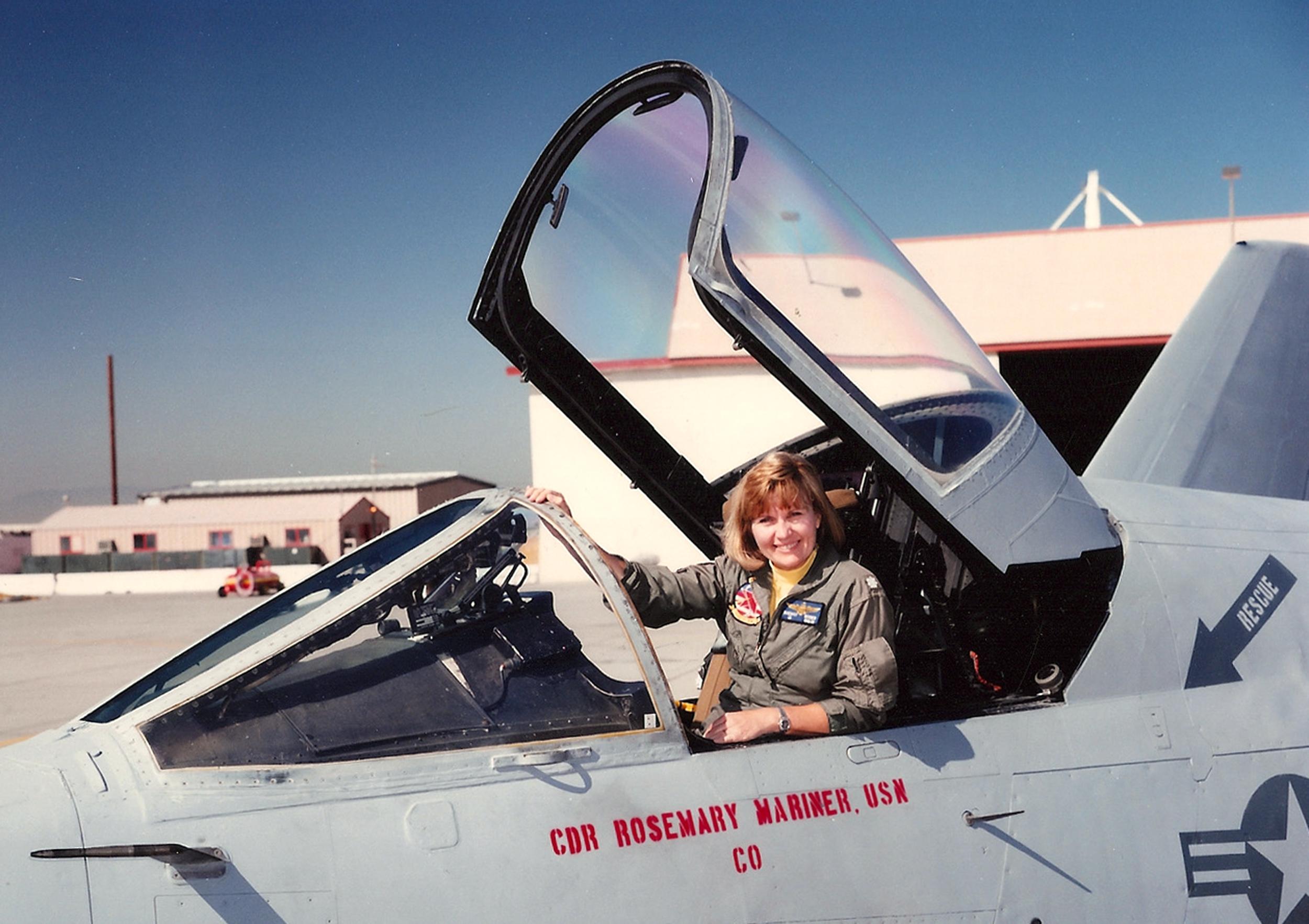 'A Badass Pilot': Capt. Rosemary Mariner, First Woman To