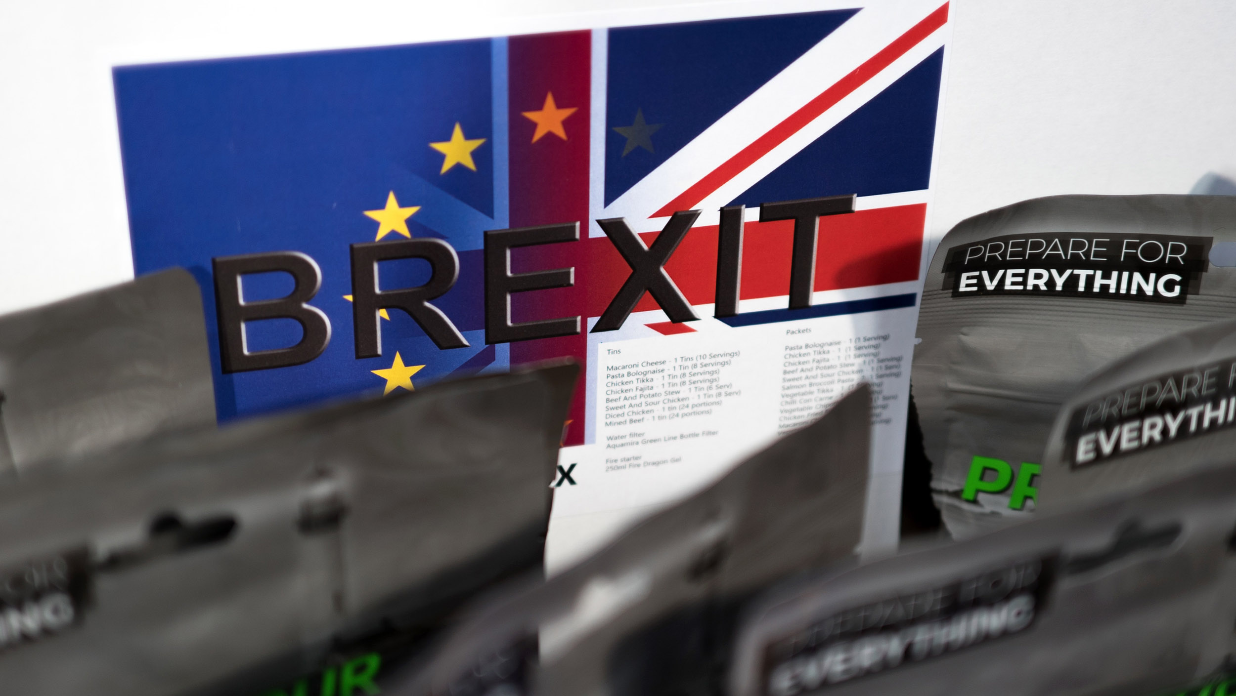 db425b00c Some in U.K. turn to  Brexit Boxes  as threat of chaotic exit from the E.U.  looms