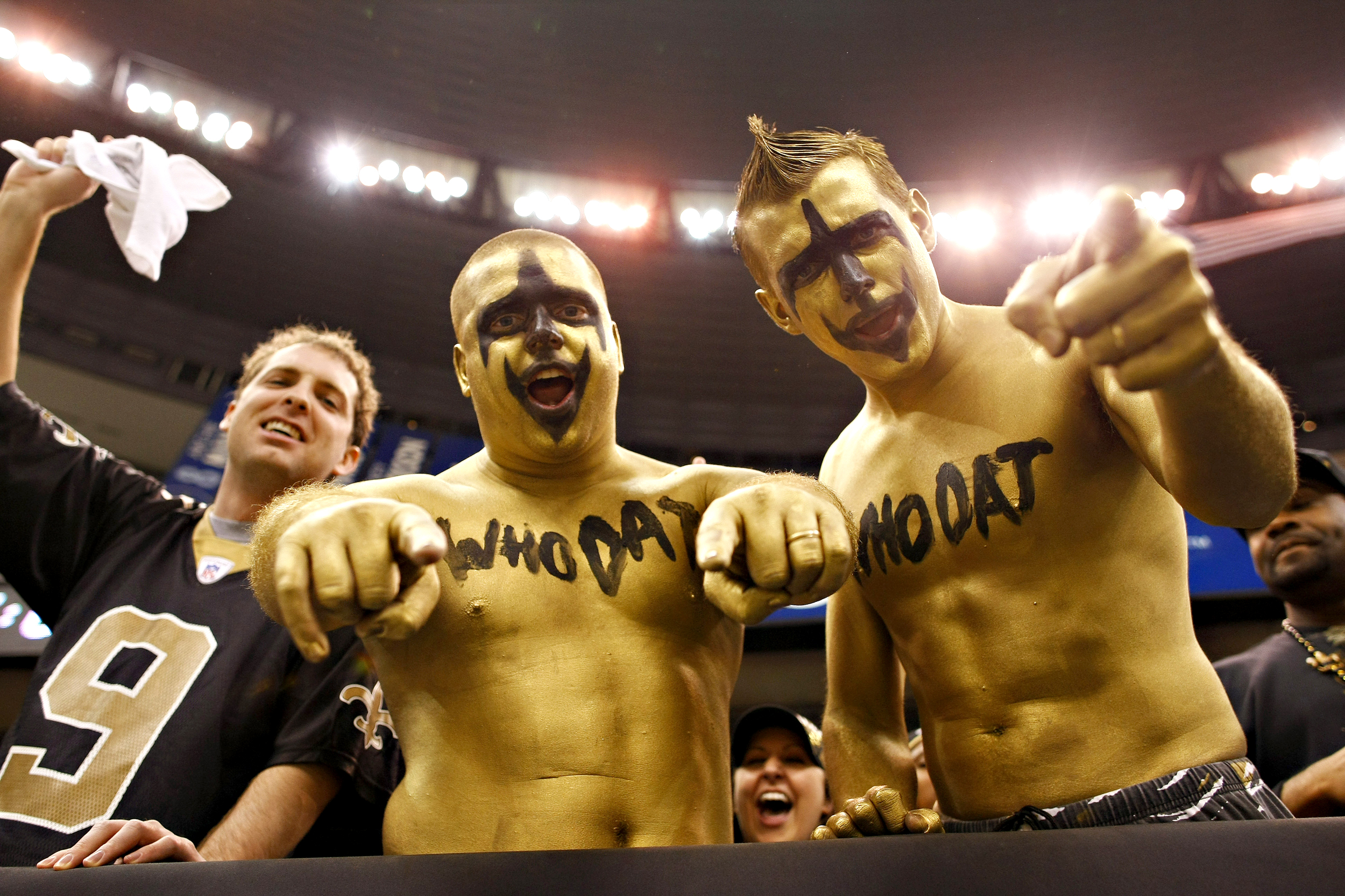 6ef03e0fa Saints fans, still feeling sting of loss, boycott Super Bowl with New  Orleans flair