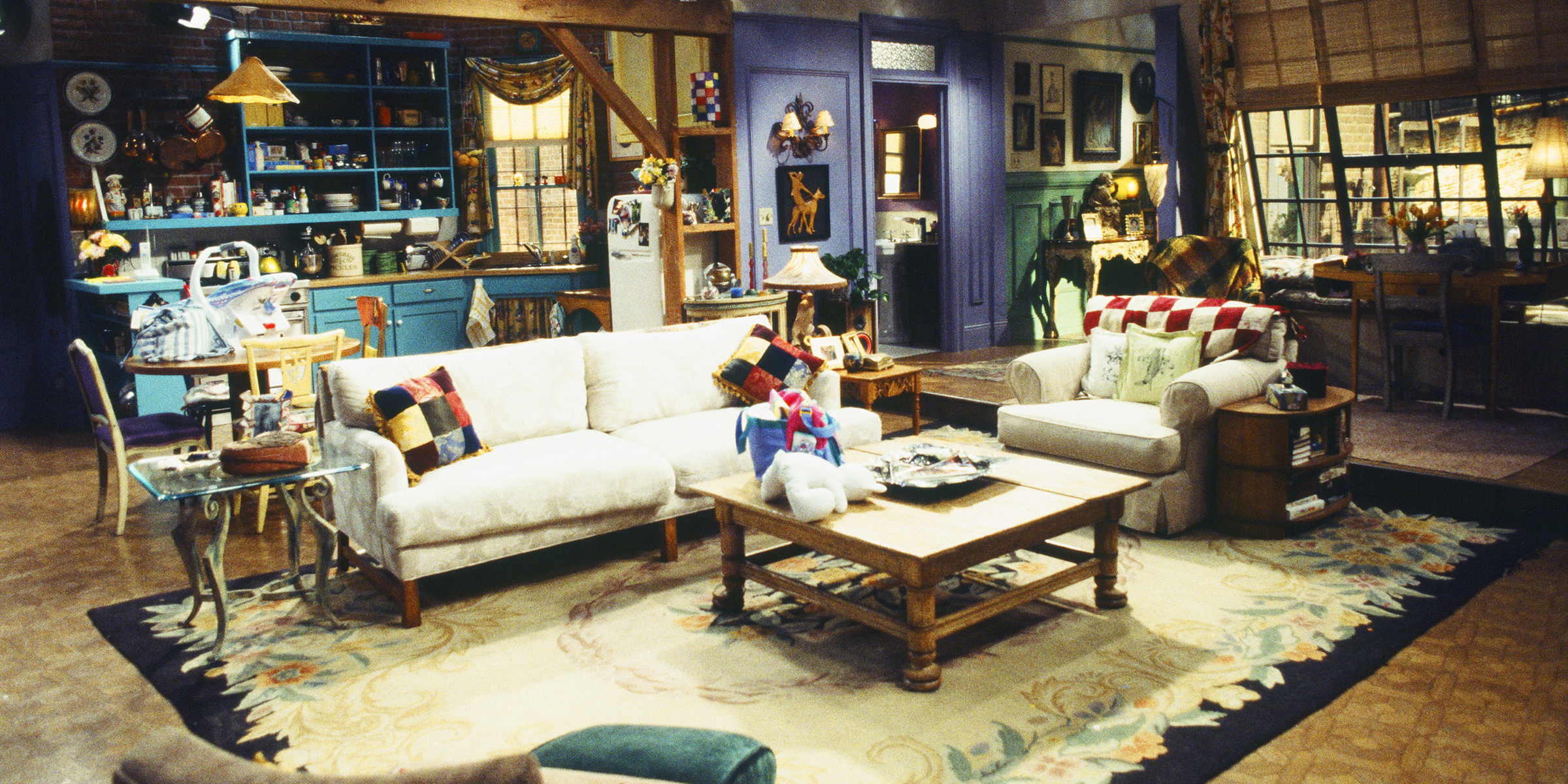 See How The Friends Apartment Might Have Looked In The 50s 60s 70s And On