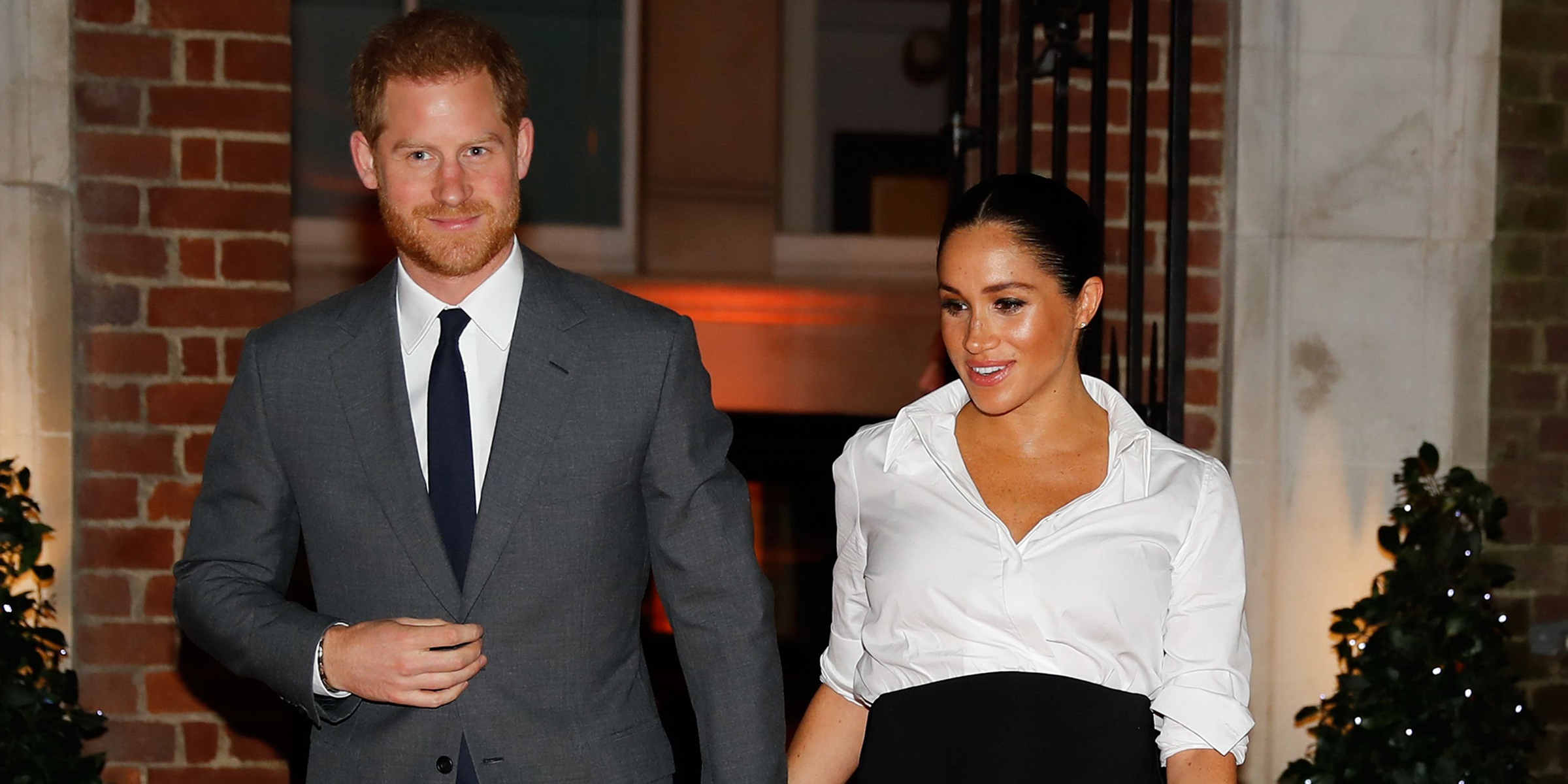 Meghan Markle dazzles in black-and-white Givenchy look — see the photos!