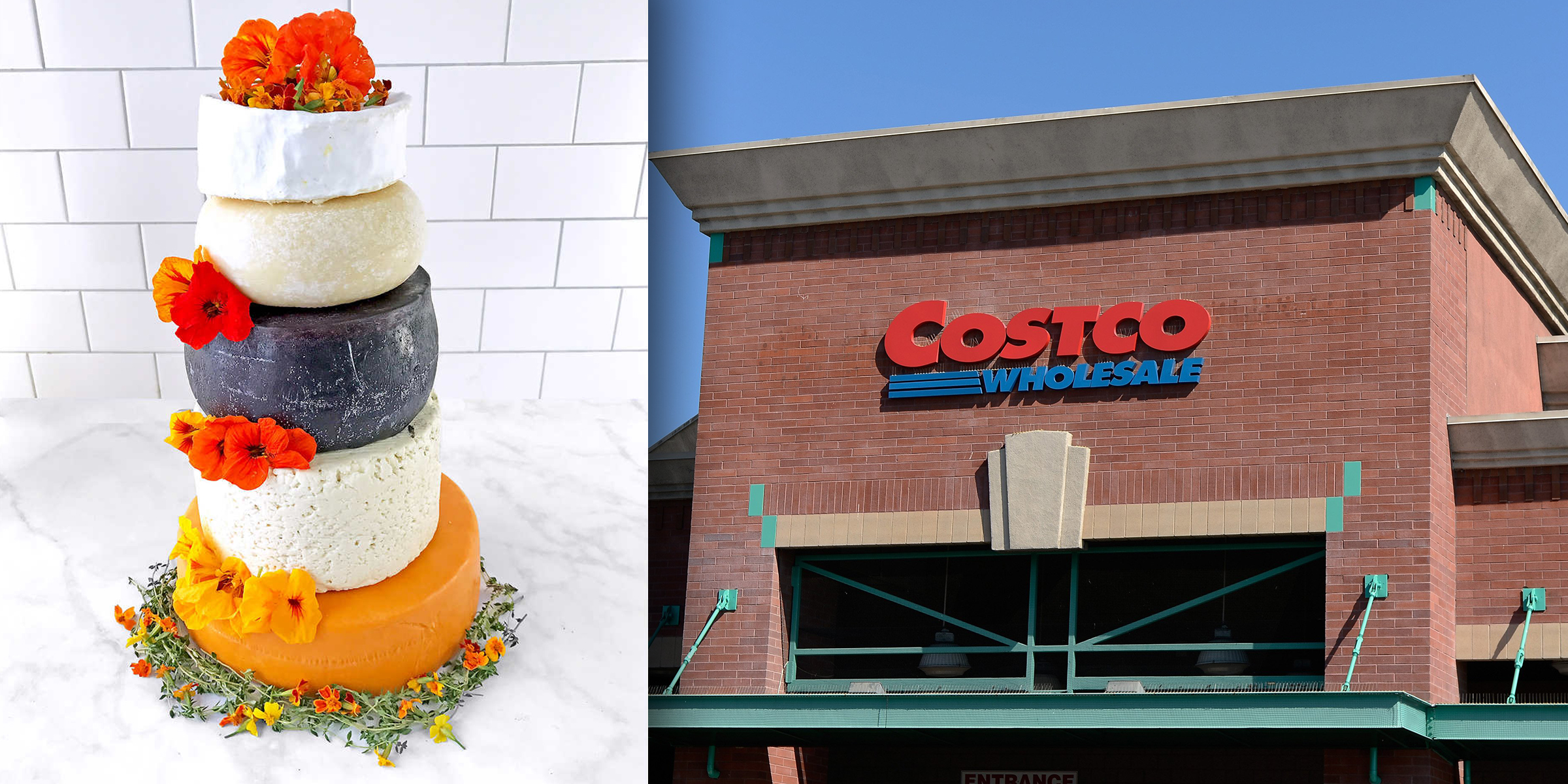Costco Is Selling A Wedding Cake Made Entirely Of Cheese