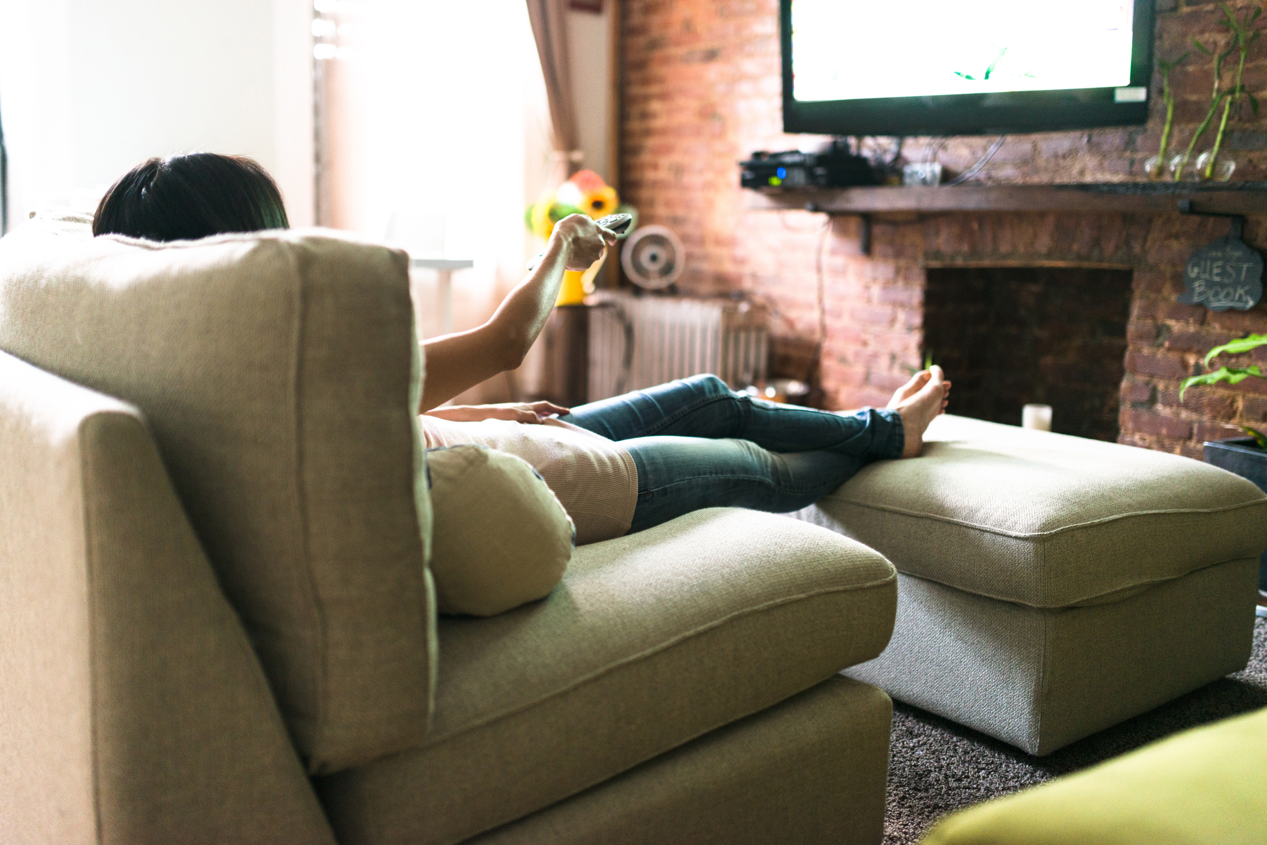 Image result for Sedentary time spent sitting, watching TV may increase colon cancer risk