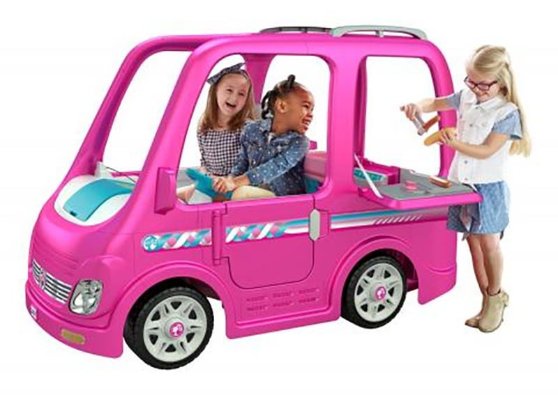 Fisher Price Recalls 44 000 Barbie Dream Camper Cars Due To Injury Risks From Faulty Pedal