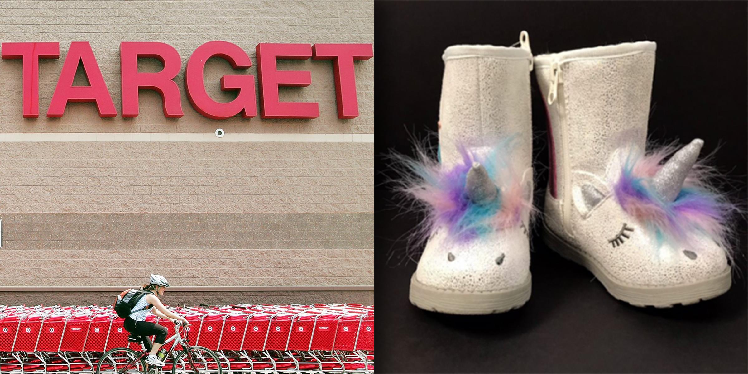 fffa6a93f73d Target recalls kids  unicorn boots due to choking hazard