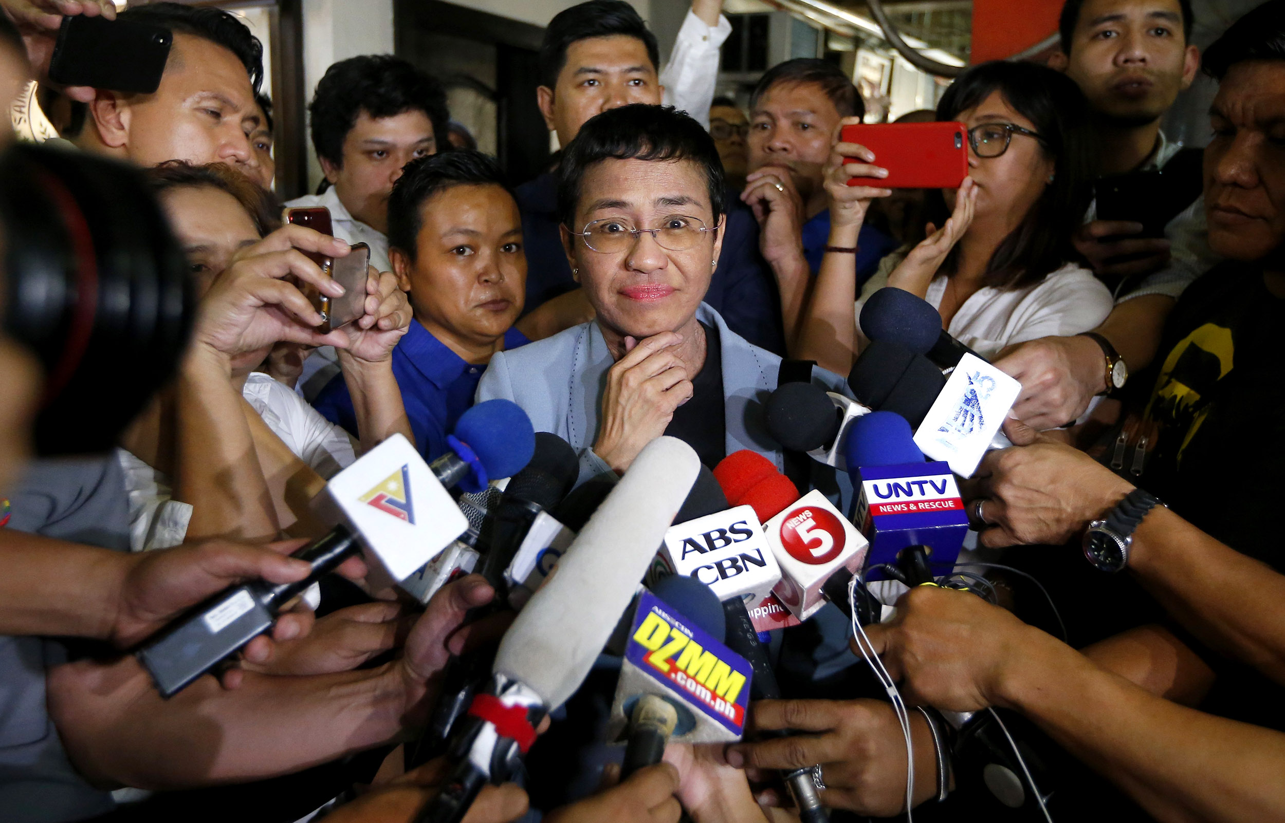Journalist-and-Duterte-critic-posts-bail-after-arrest-causes-outcry