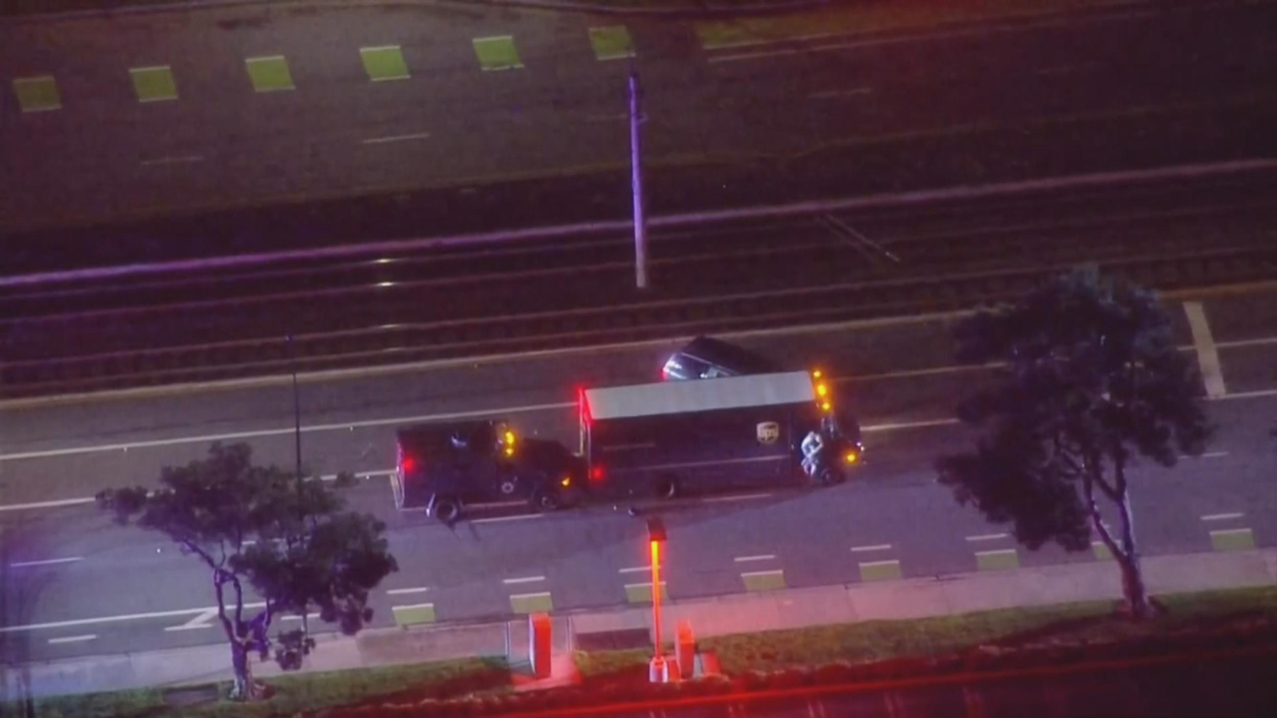 San Jose police fatally shoot UPS truck hijacker after hours-long