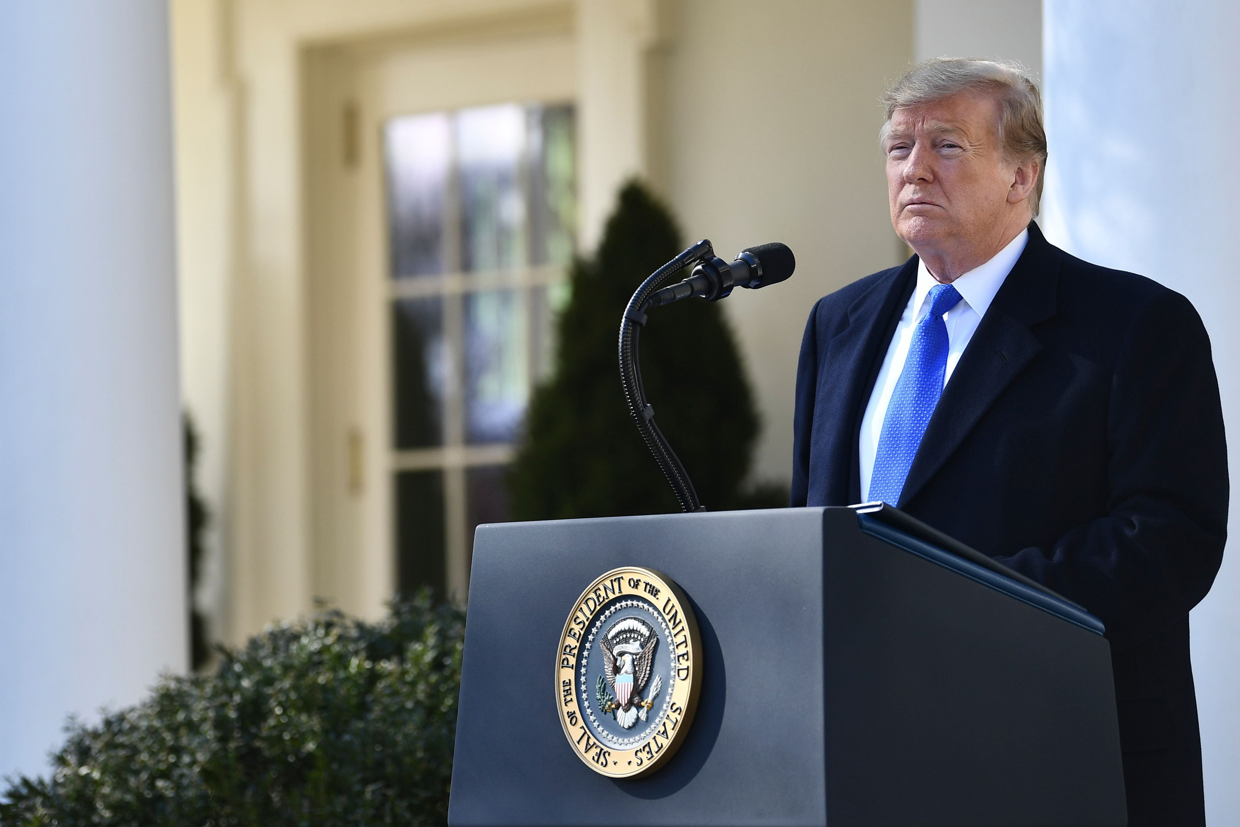 Image result for Fact check: President Donald Trump's national emergency remarks