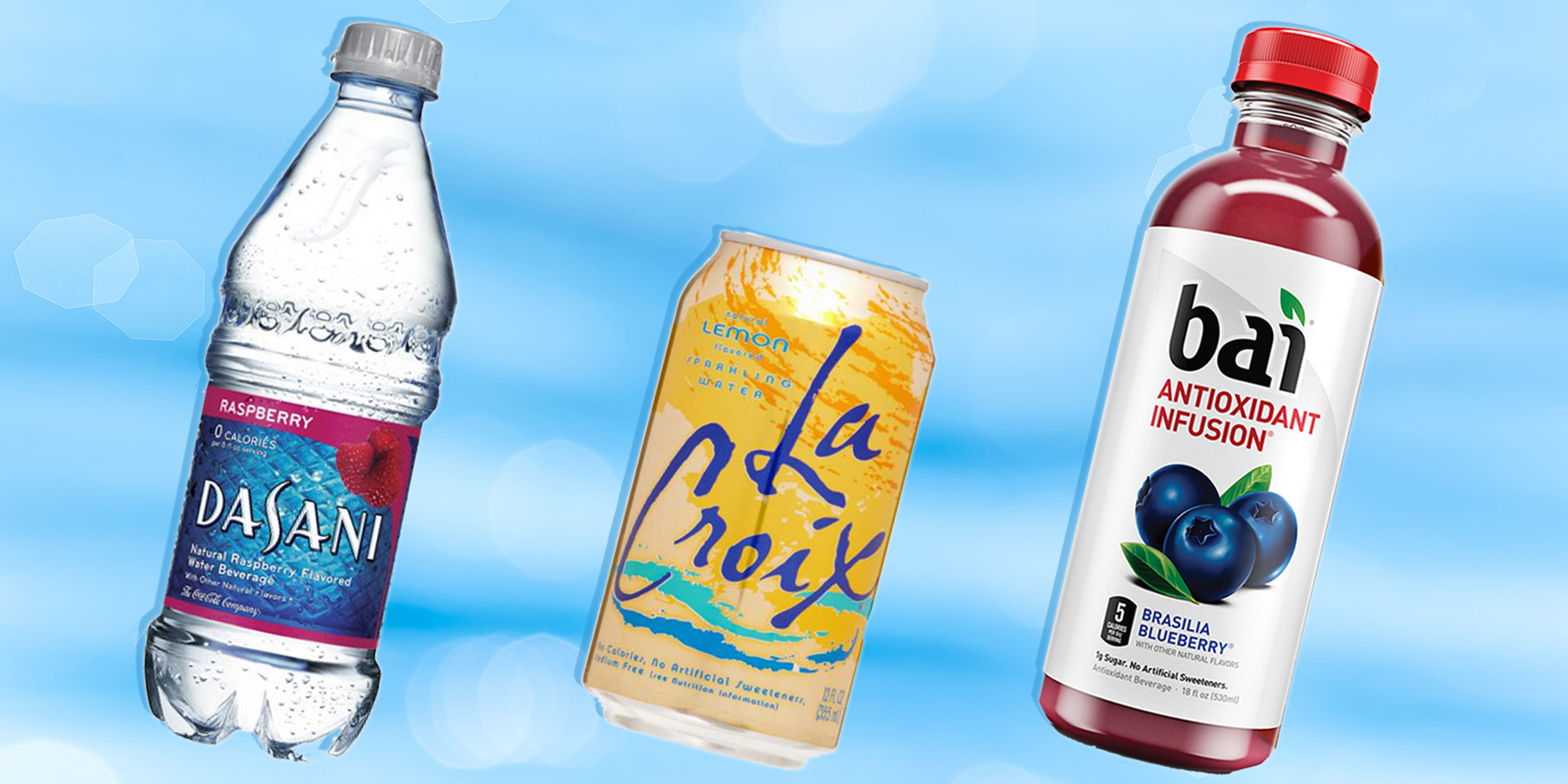 The truth about fruit-flavored waters