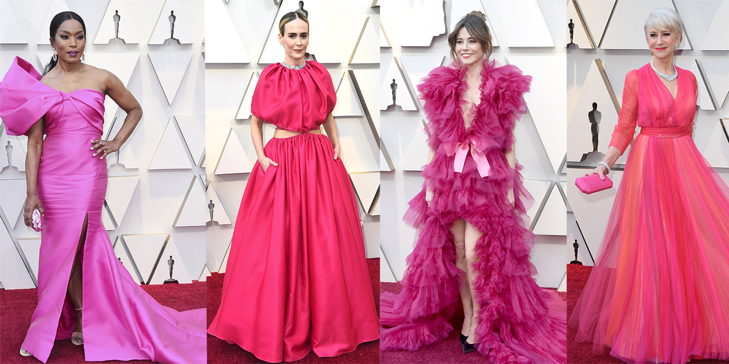 9a92052982638b The top Oscars red carpet trends  Hot pink