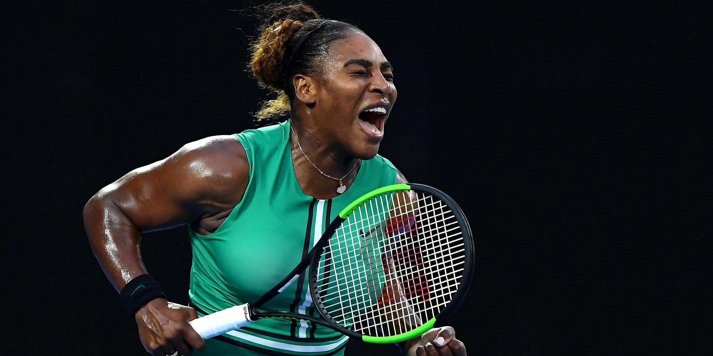 huella Pirata libro de bolsillo  Serena Williams Nike 'Dream Crazier' ad celebrates female athletes