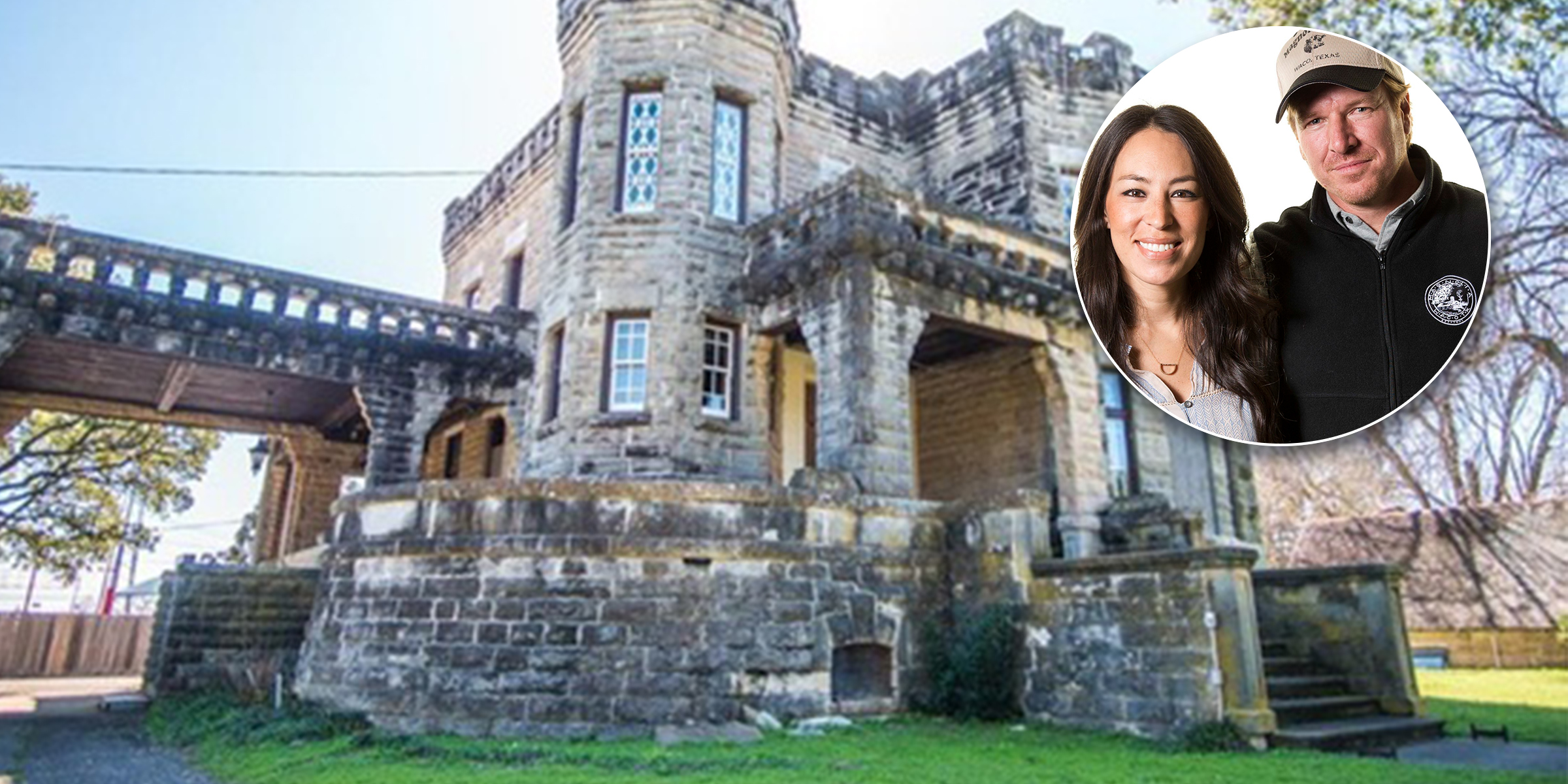 Chips Et Joanna Gaines chip and joanna gaines bought cottonland castle in waco, texas