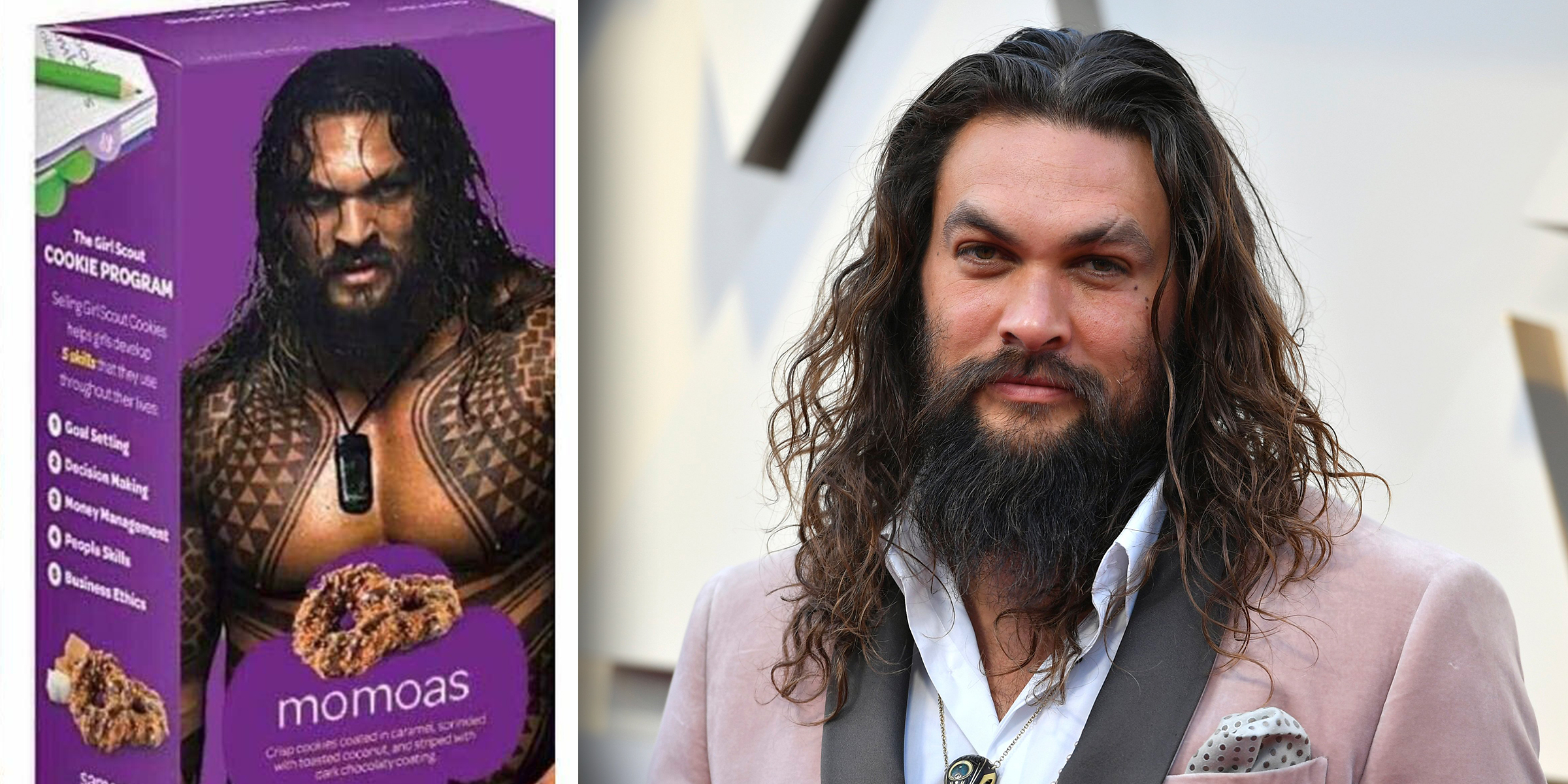 Jason Momoa Responds To Girl Scout Who Used Shirtless Photo Of Him