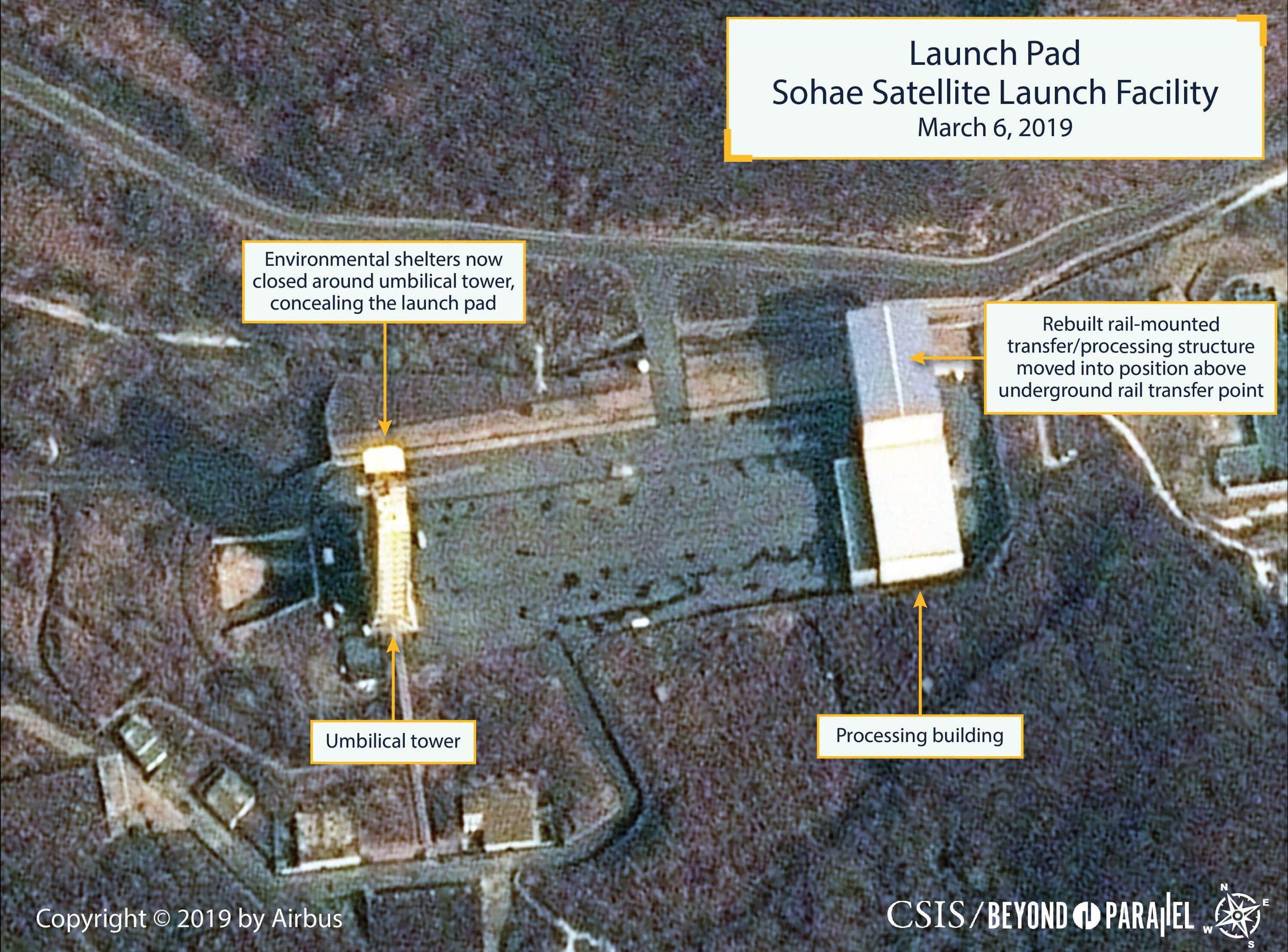 New Photos Show North Korea Rocket Site Back To Normal Operating