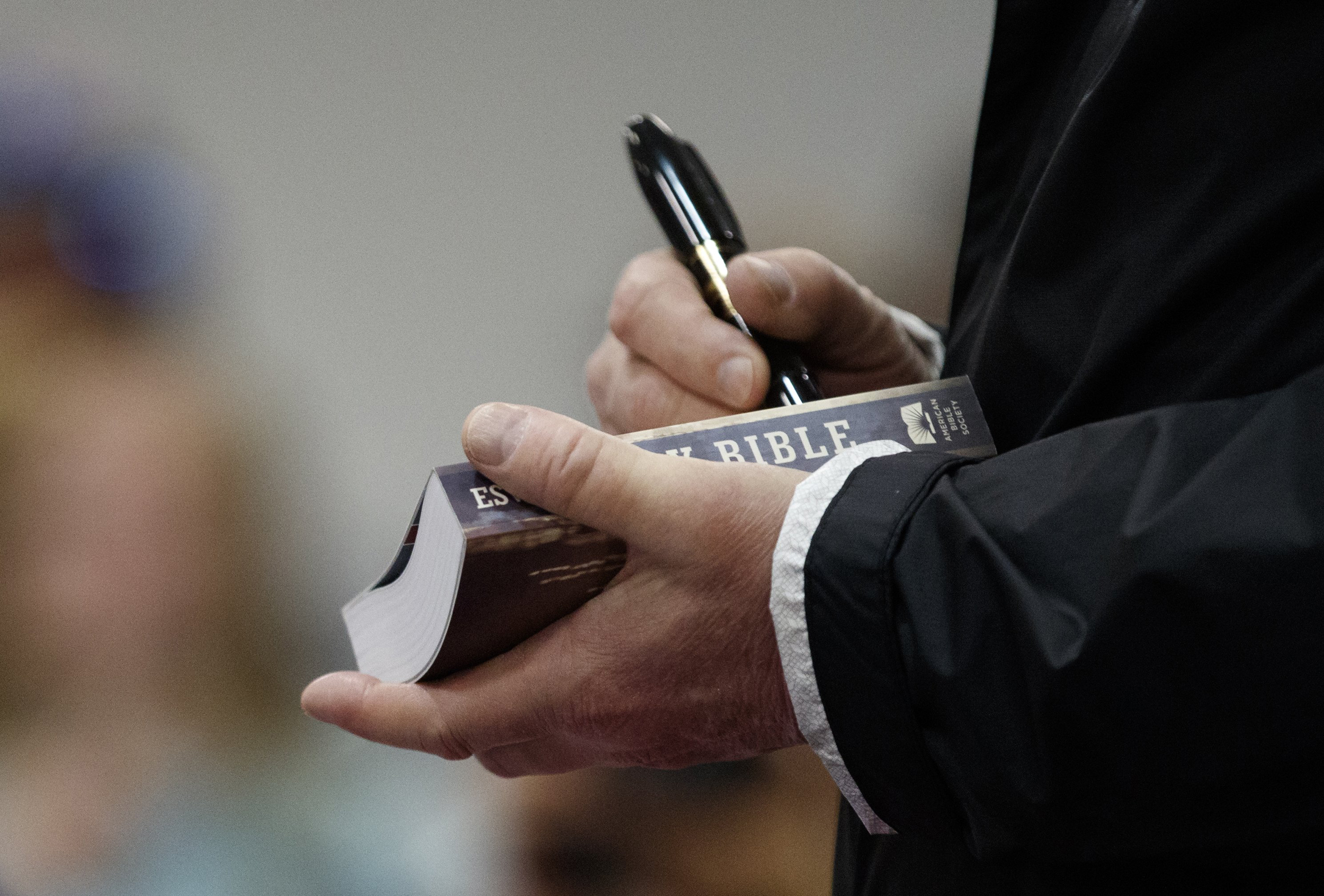 Trump Signature On Bible Sold On Ebay Is Fake Experts Say