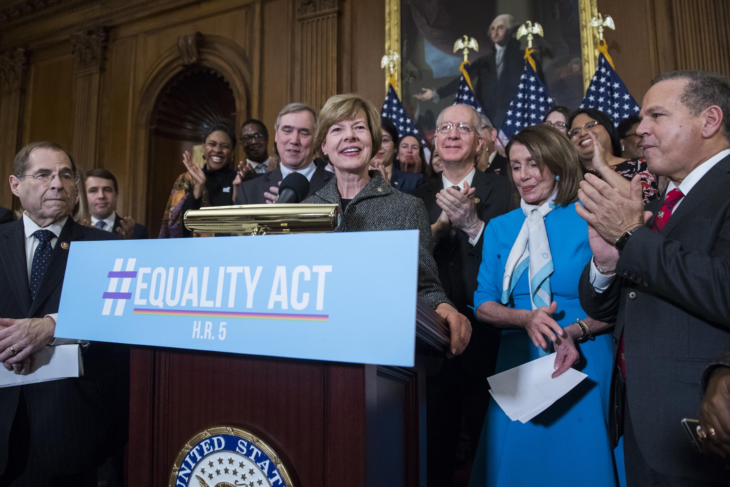 Democrats reintroduce Equality Act to ban LGBTQ discrimination