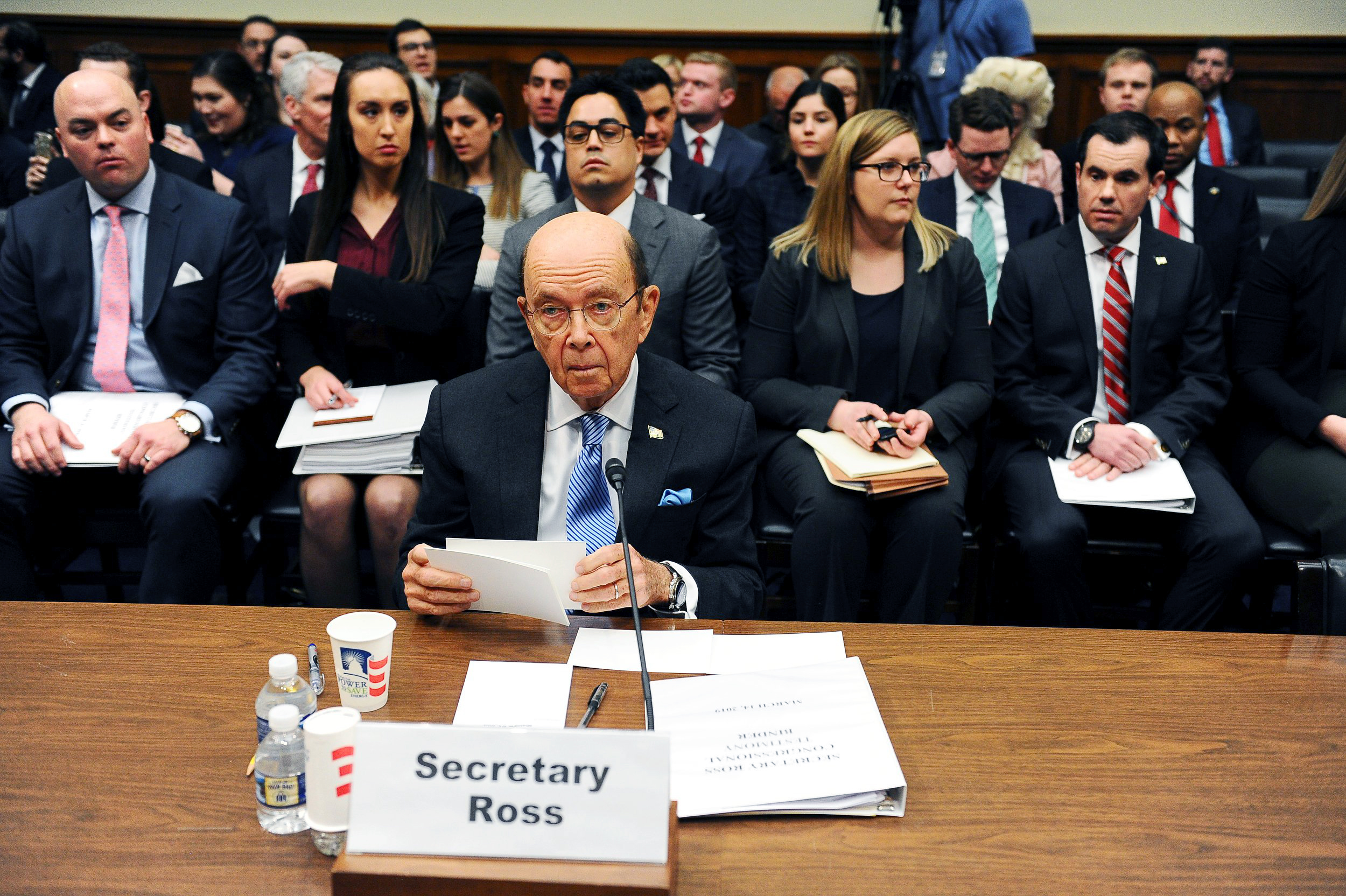 Wilbur Ross grilled over role in adding citizenship question to 2020 census